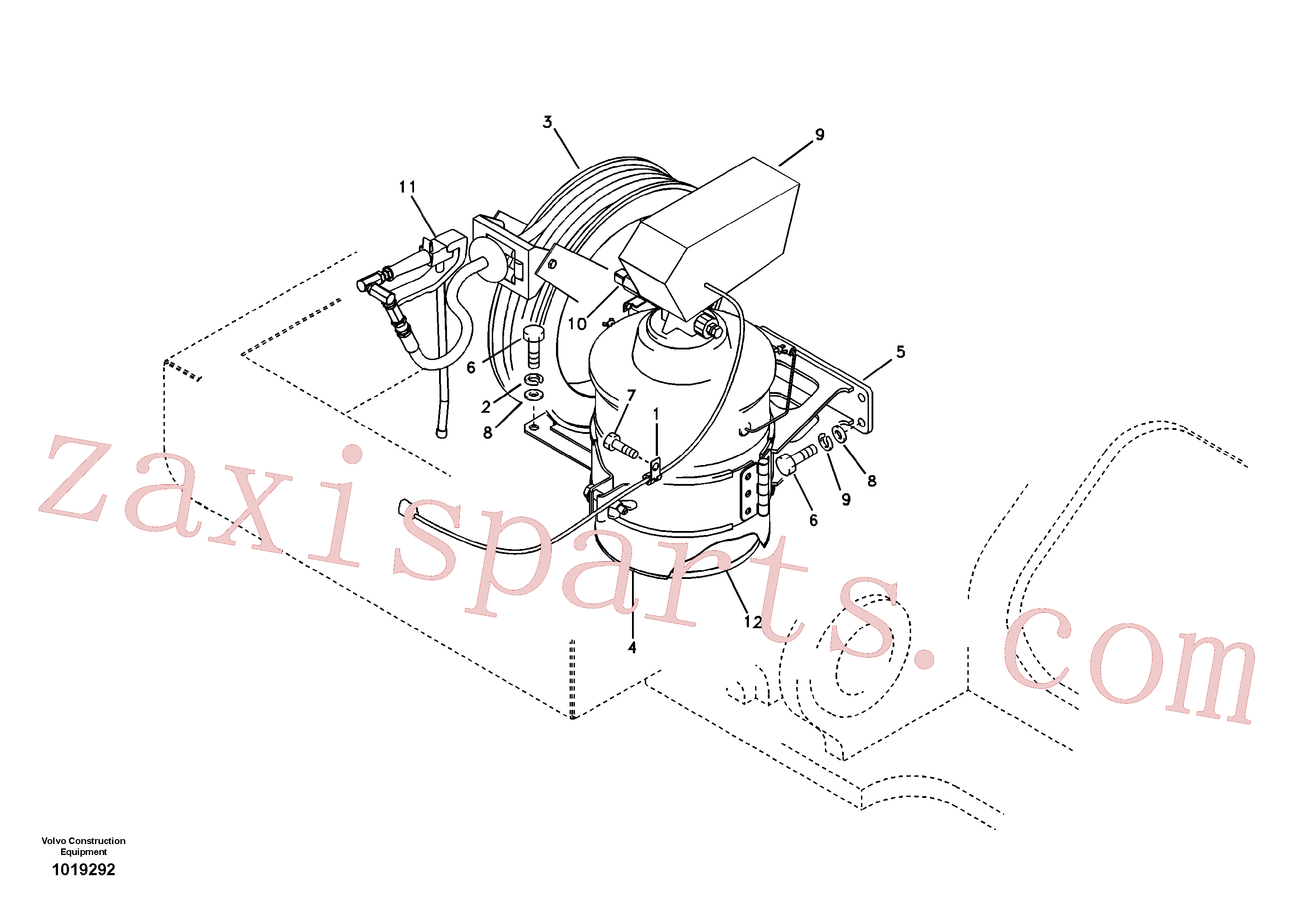 VOE14535716 for Volvo Automatic lubrication(1019292 assembly)