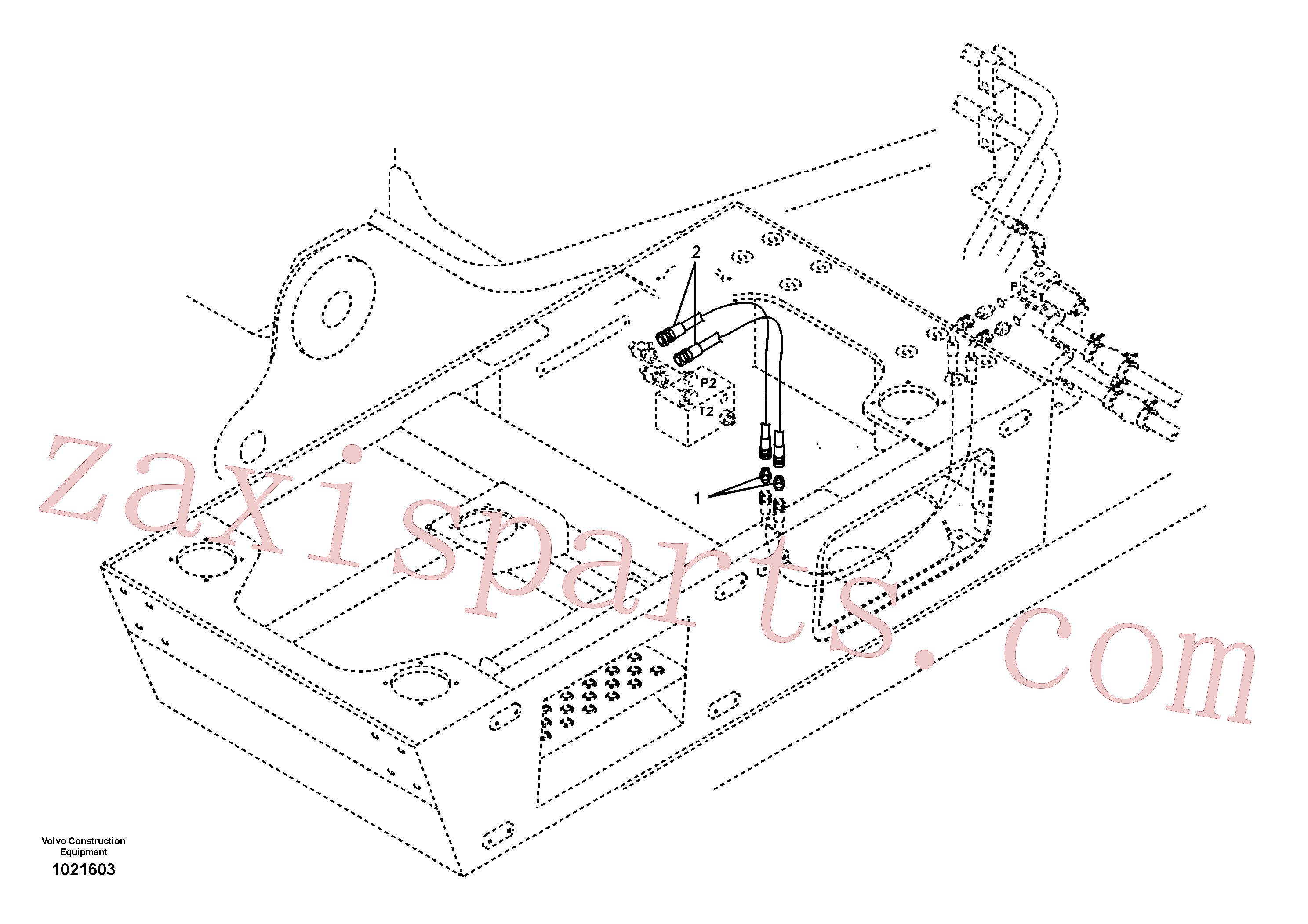 SA9416-11021 for Volvo Servo system, X1 control 2 switch(1021603 assembly)