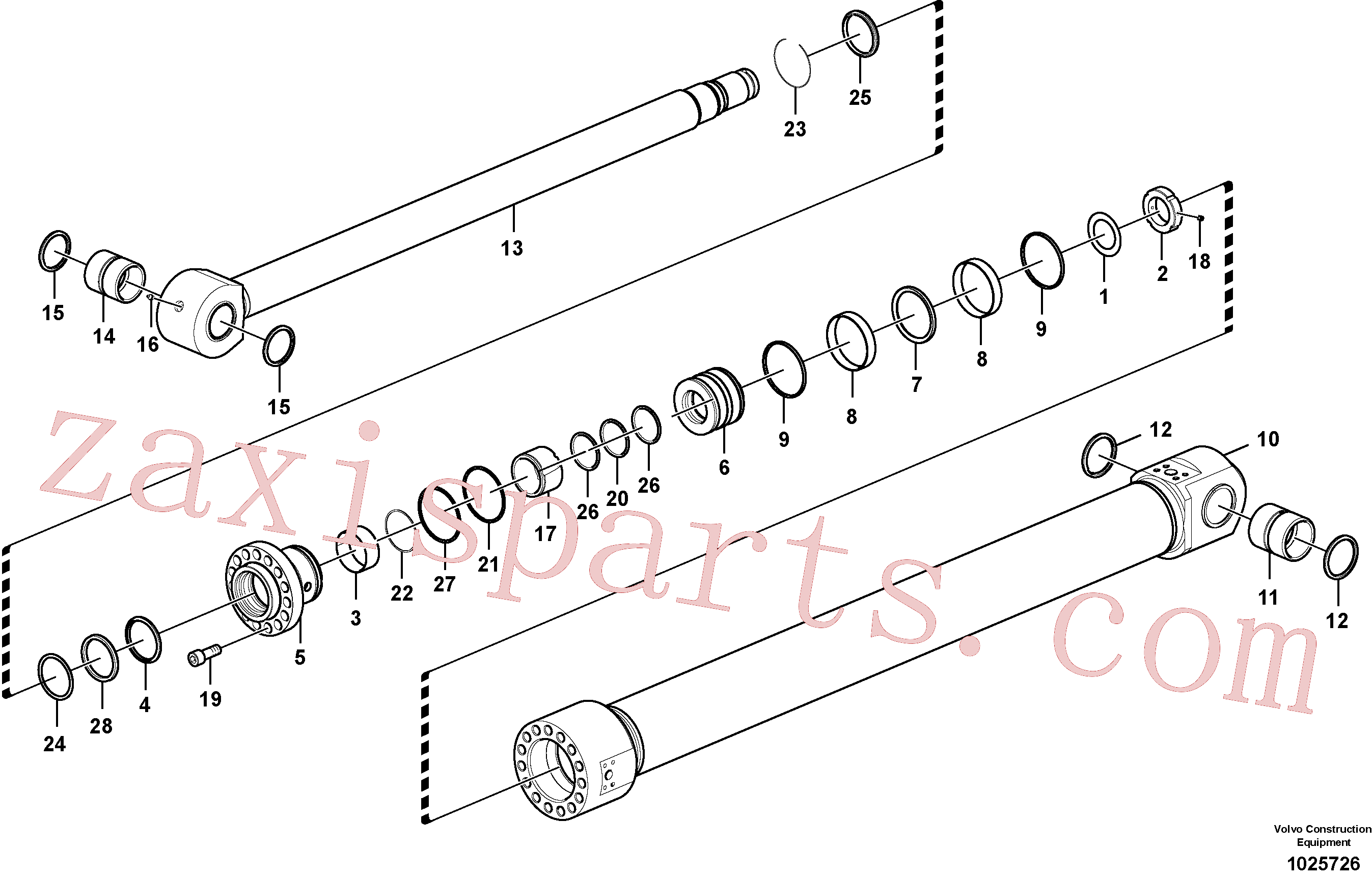 SA9016-22018 for Volvo Bucket cylinder(1025726 assembly)