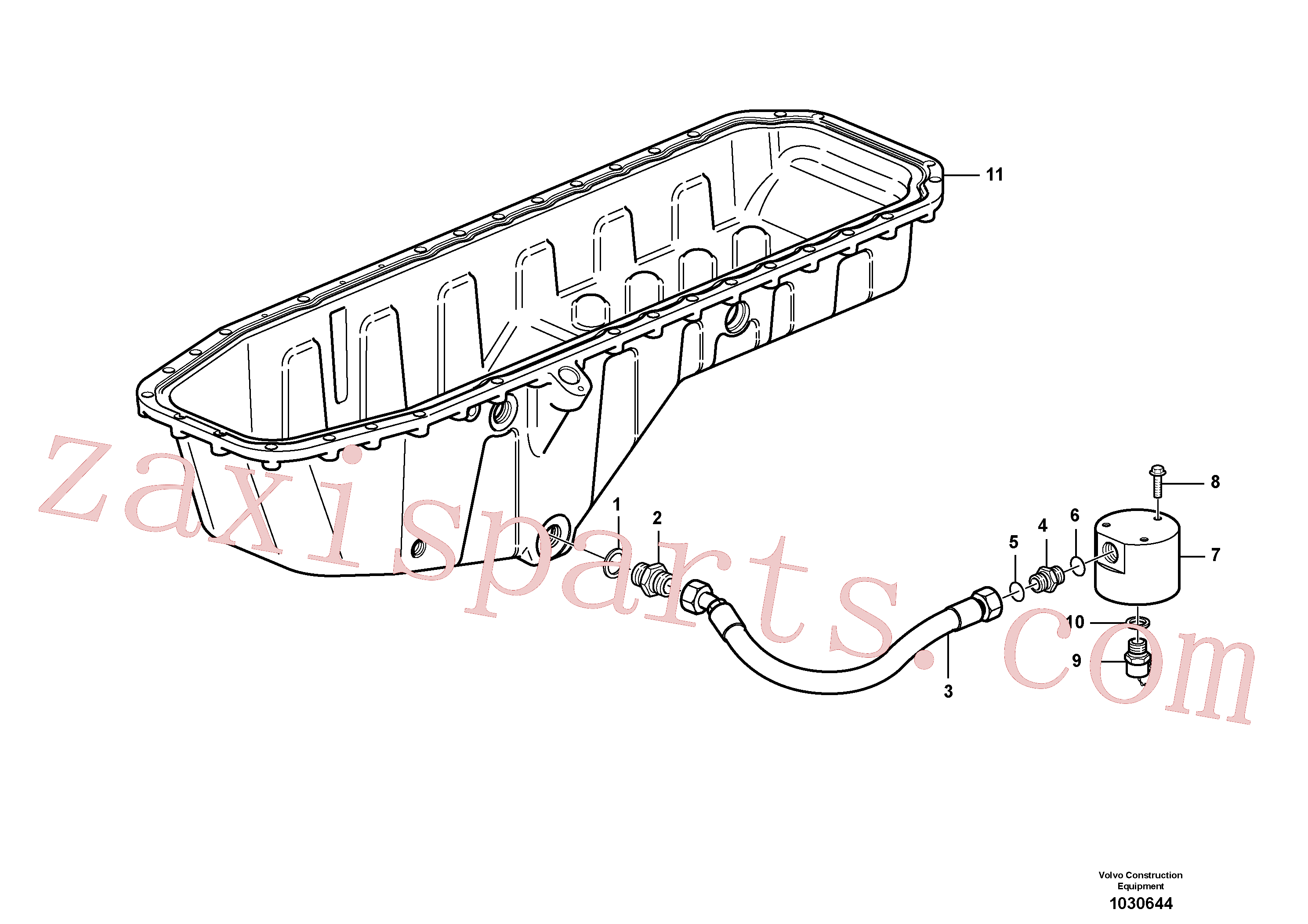 VOE14213678 for Volvo Draining of oil sump(1030644 assembly)