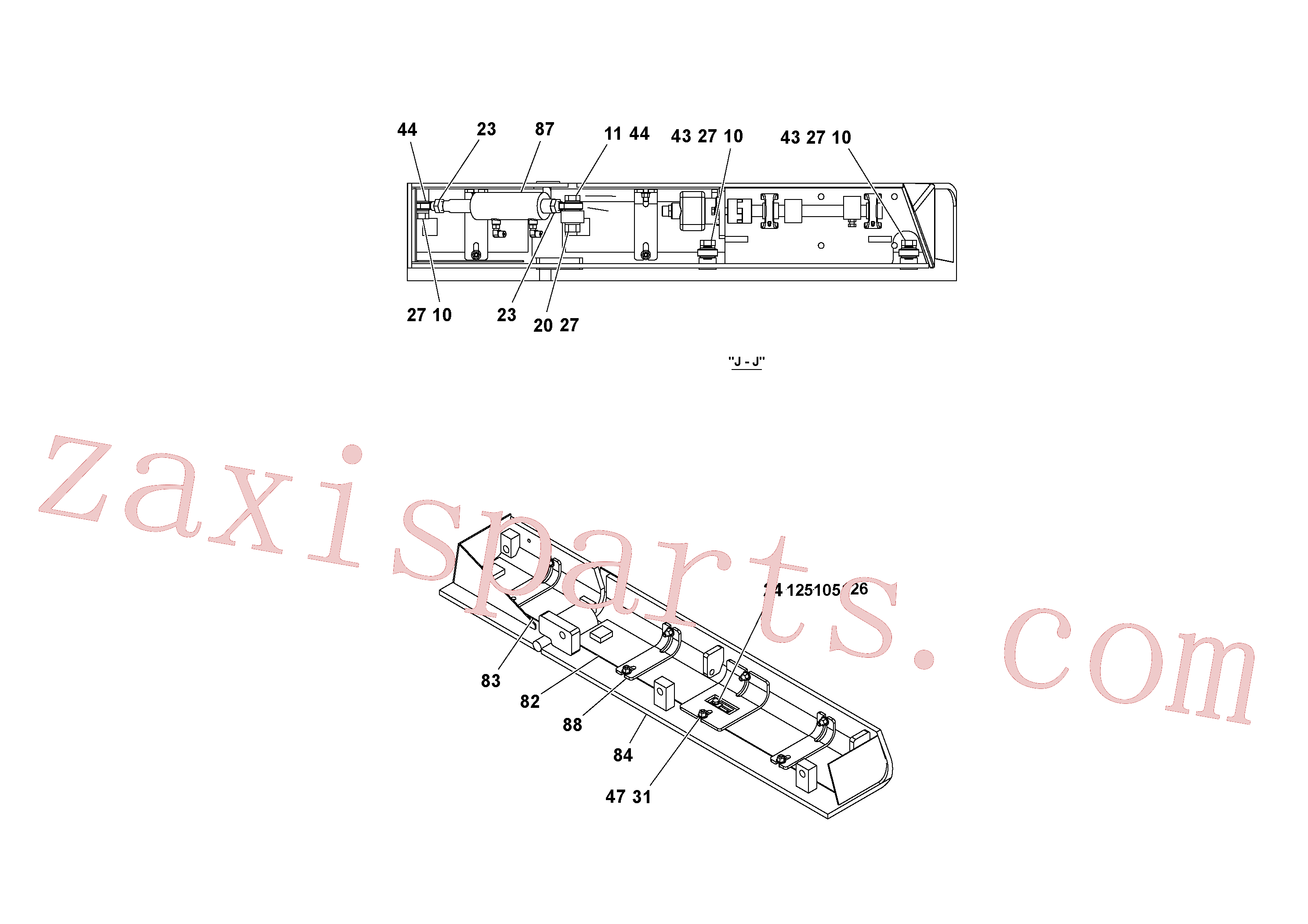 RM20948469 for Volvo 4' Extension Assembly(1036861 assembly)