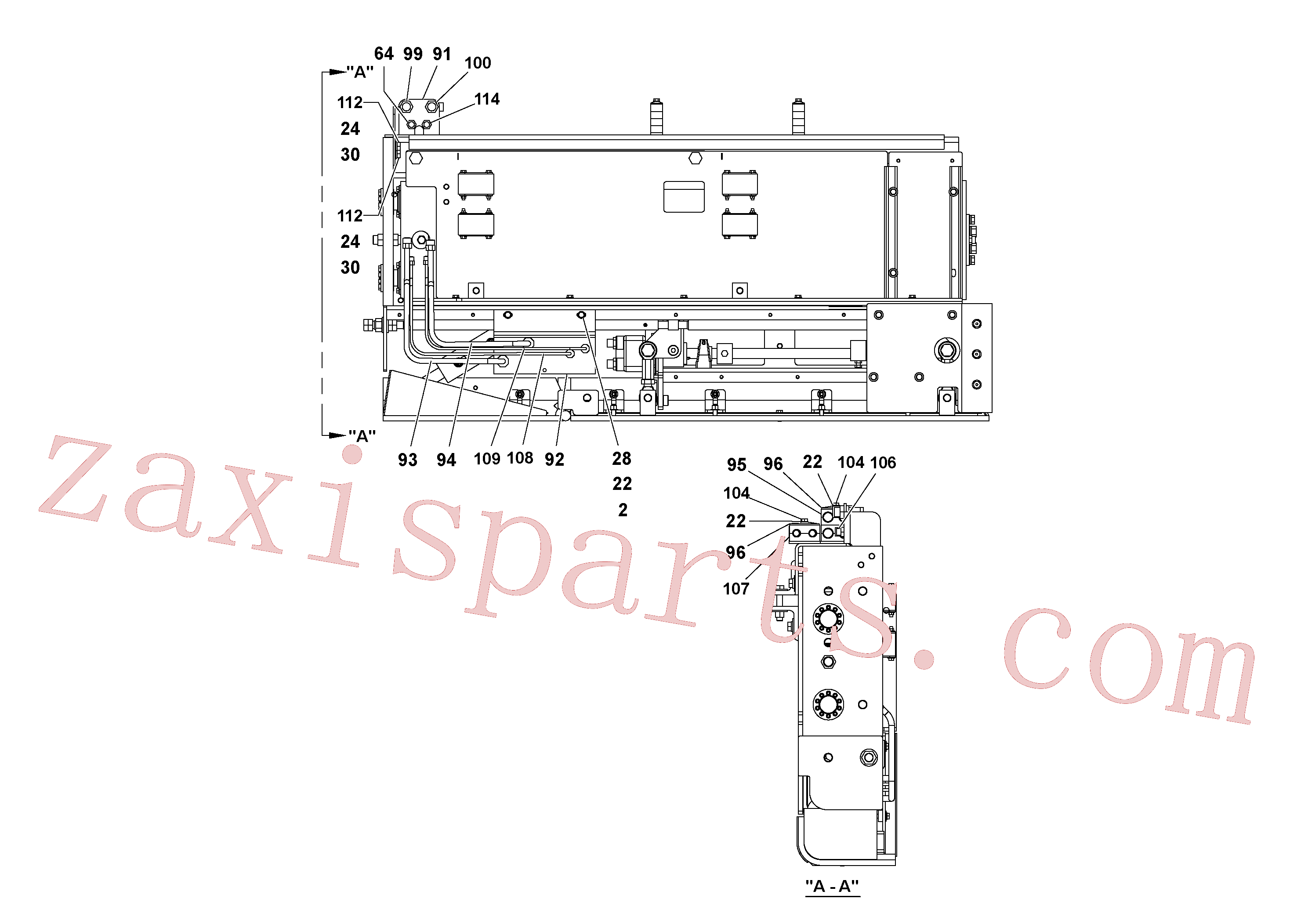 RM20922589 for Volvo 5' Extension Assembly(1036981 assembly)