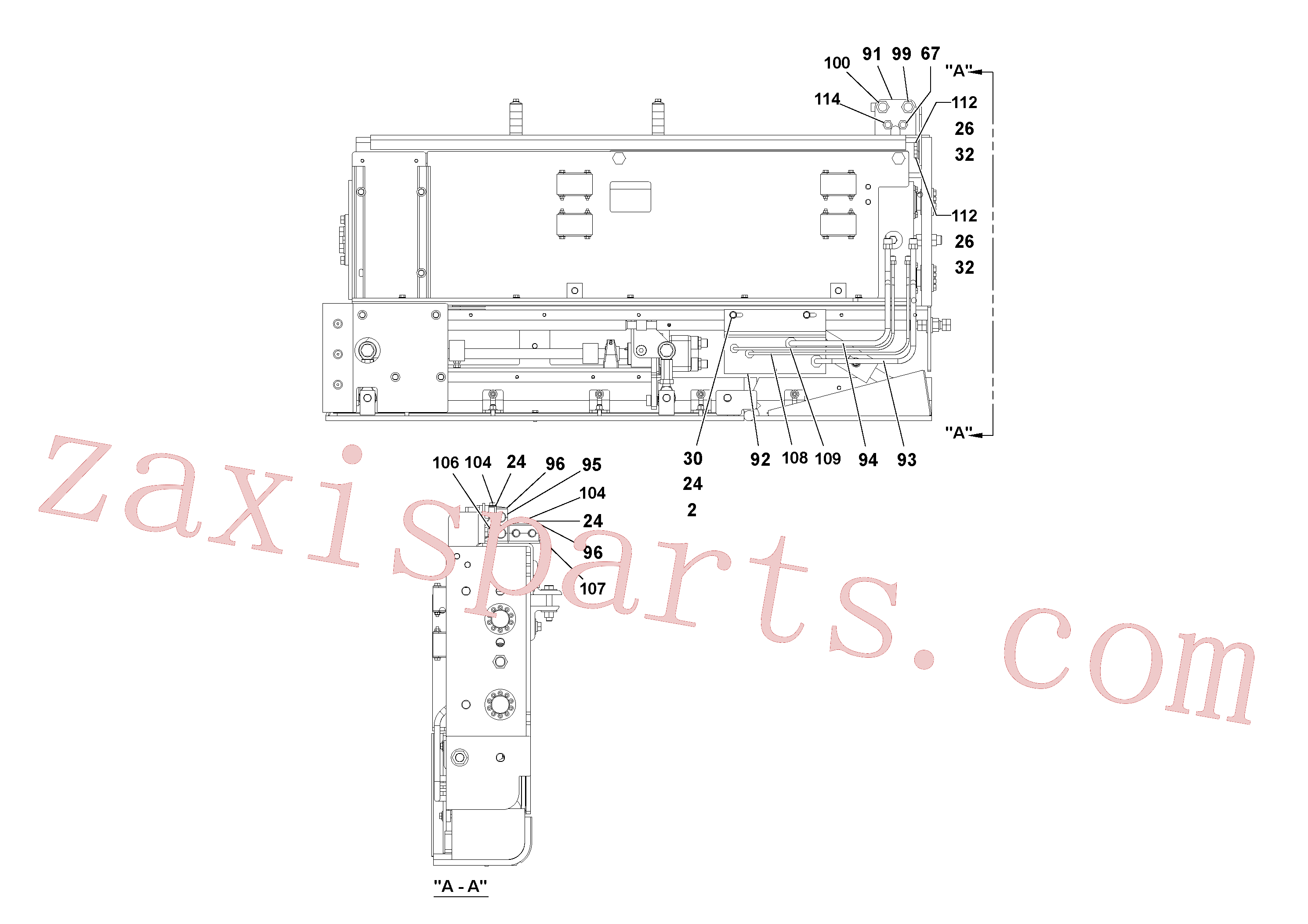 RM20948469 for Volvo 5' Extension Assembly(1036988 assembly)