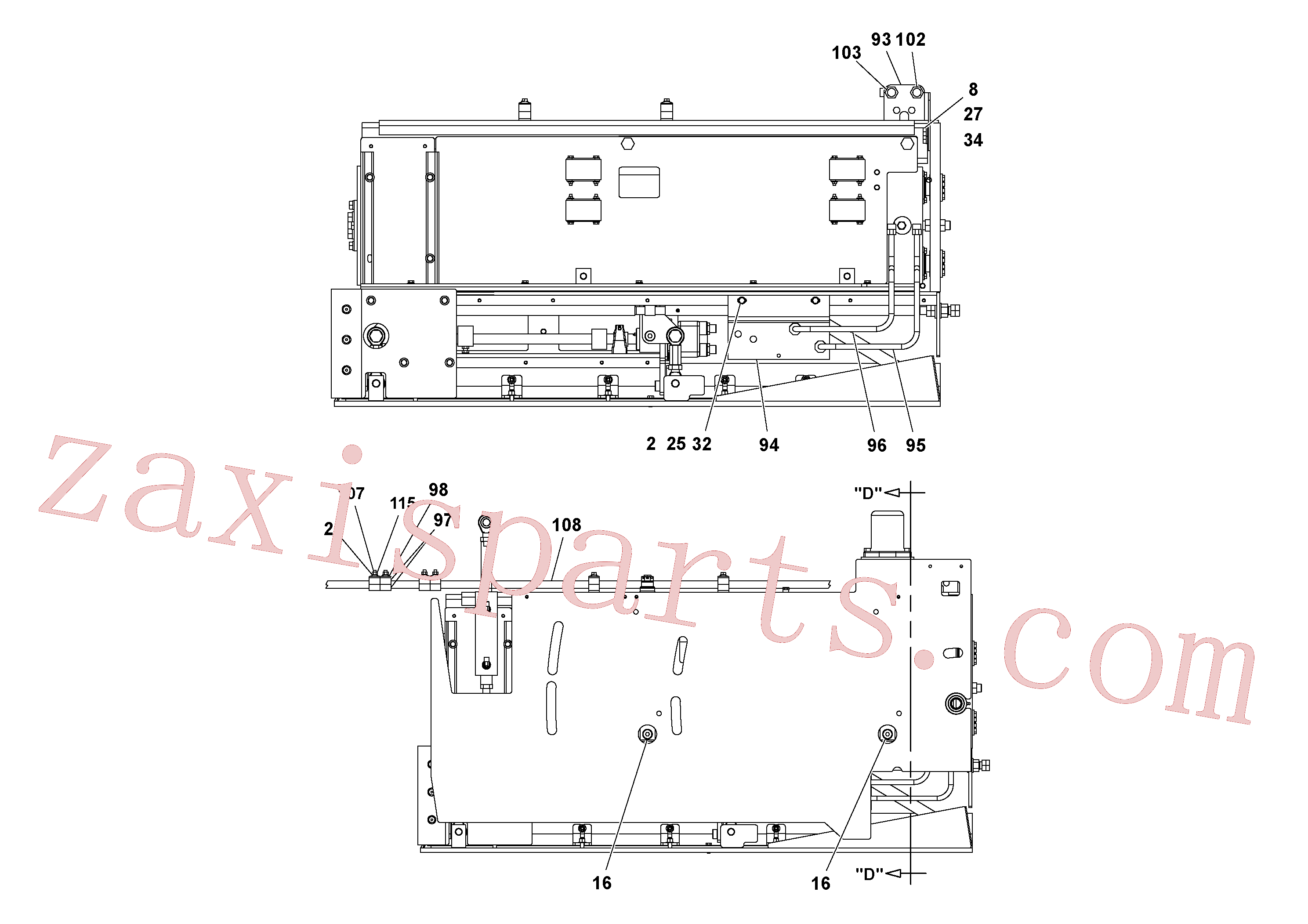 RM20922589 for Volvo 5' Extension Asssembly(1037003 assembly)