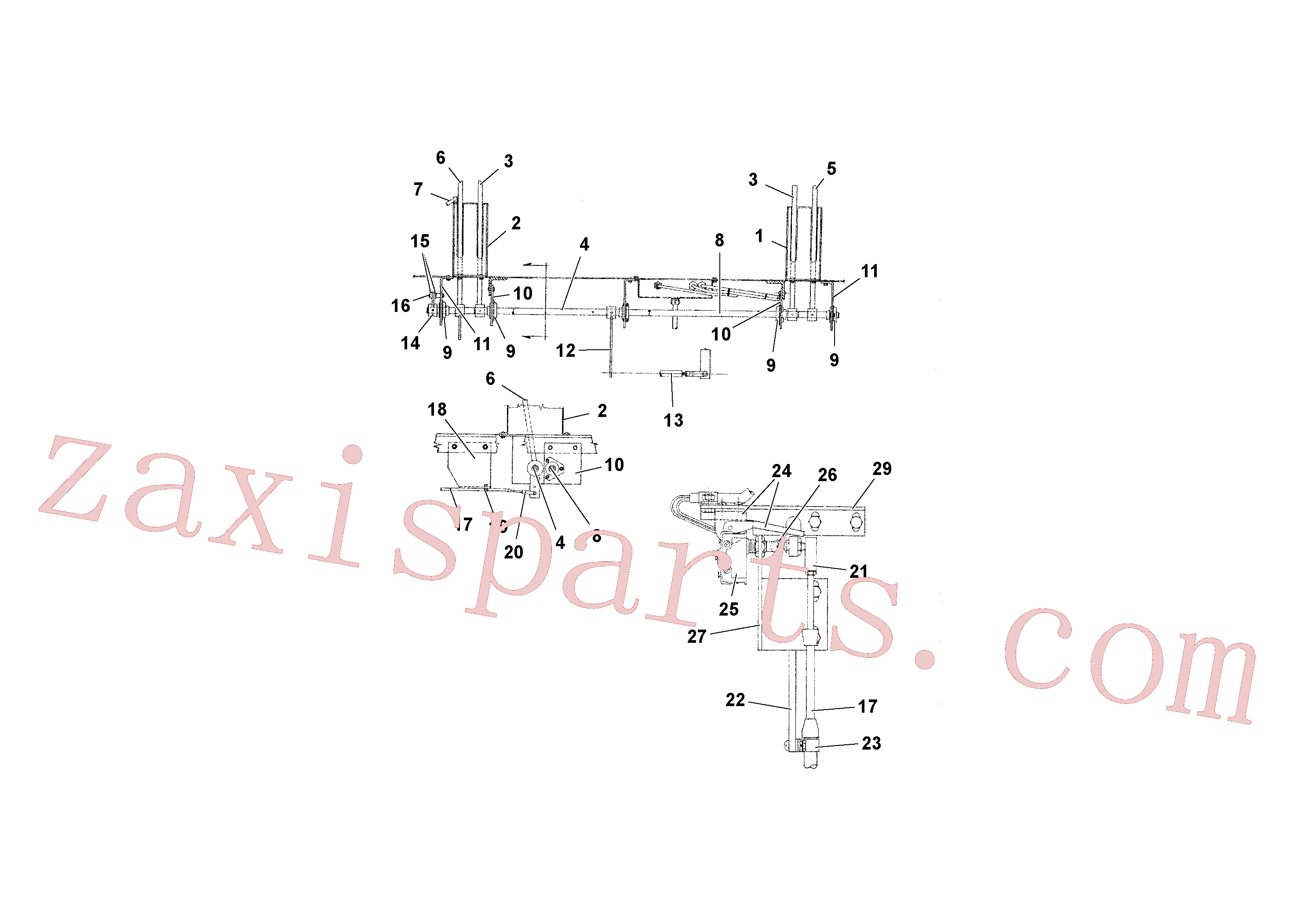 RM59580571 for Volvo Travel and Conveyor Controls(1039296 assembly)