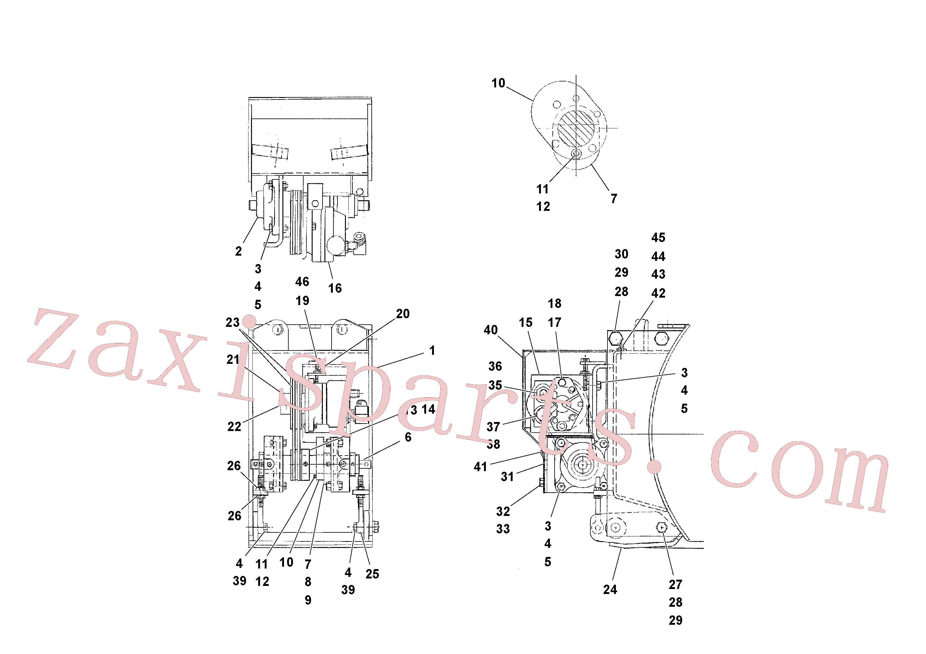 RM95922894 for Volvo Screed Strike-off Assembly(1040098 assembly)