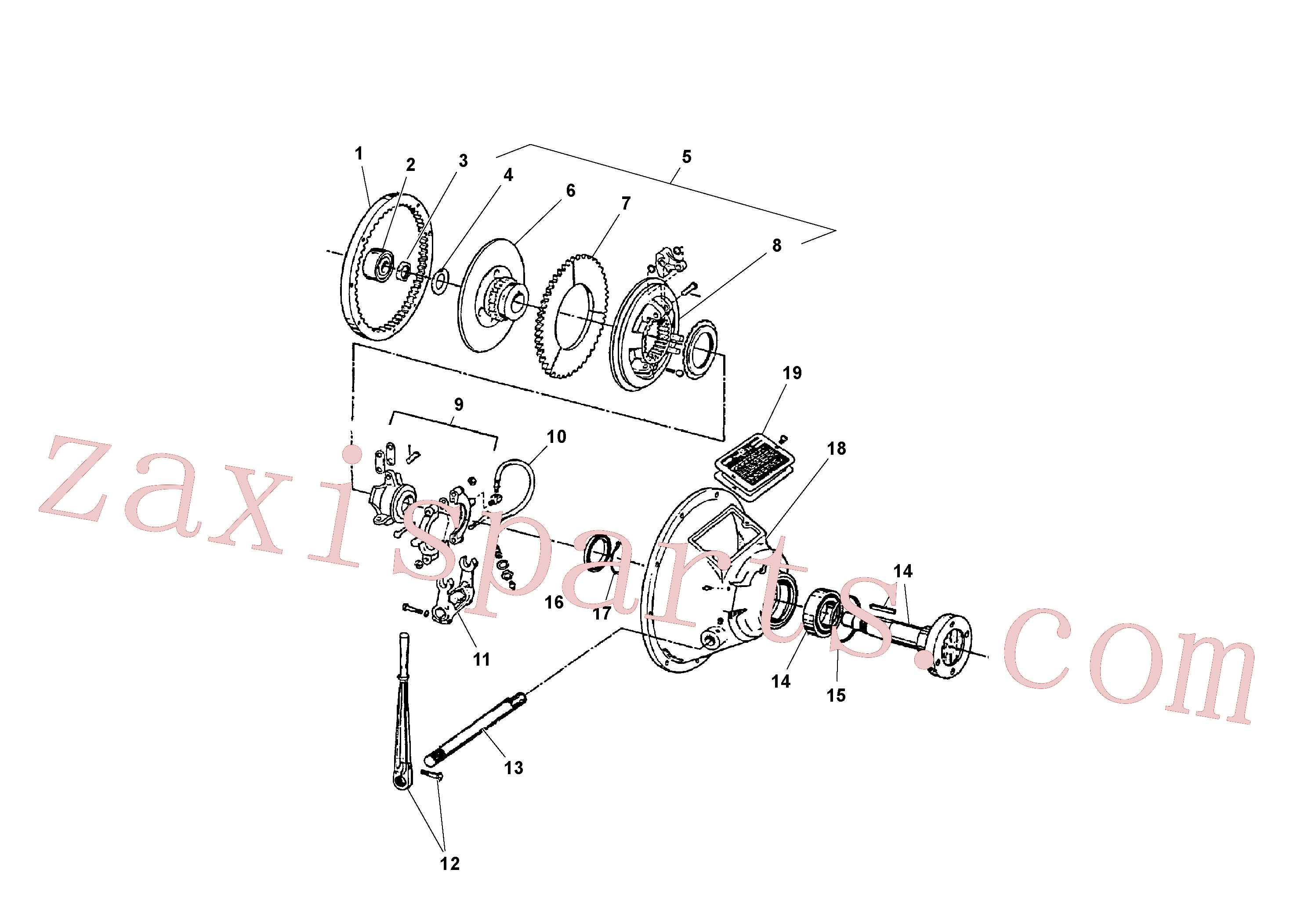 RM20923785 for Volvo Power take-off(1041100 assembly)
