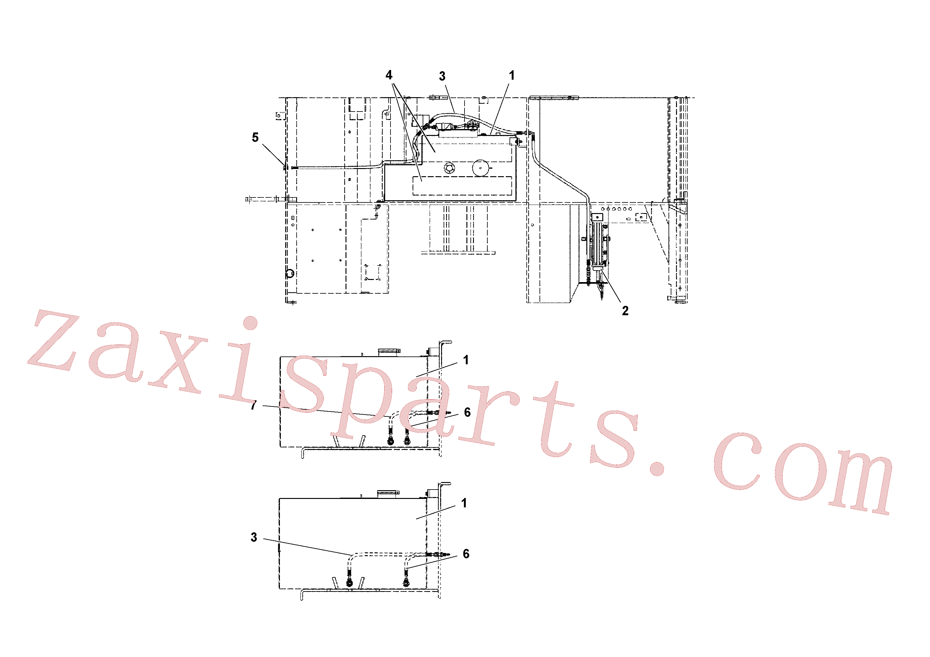 RM95922894 for Volvo Fuel Tank/Wash-down Arrangement(1041124 assembly)