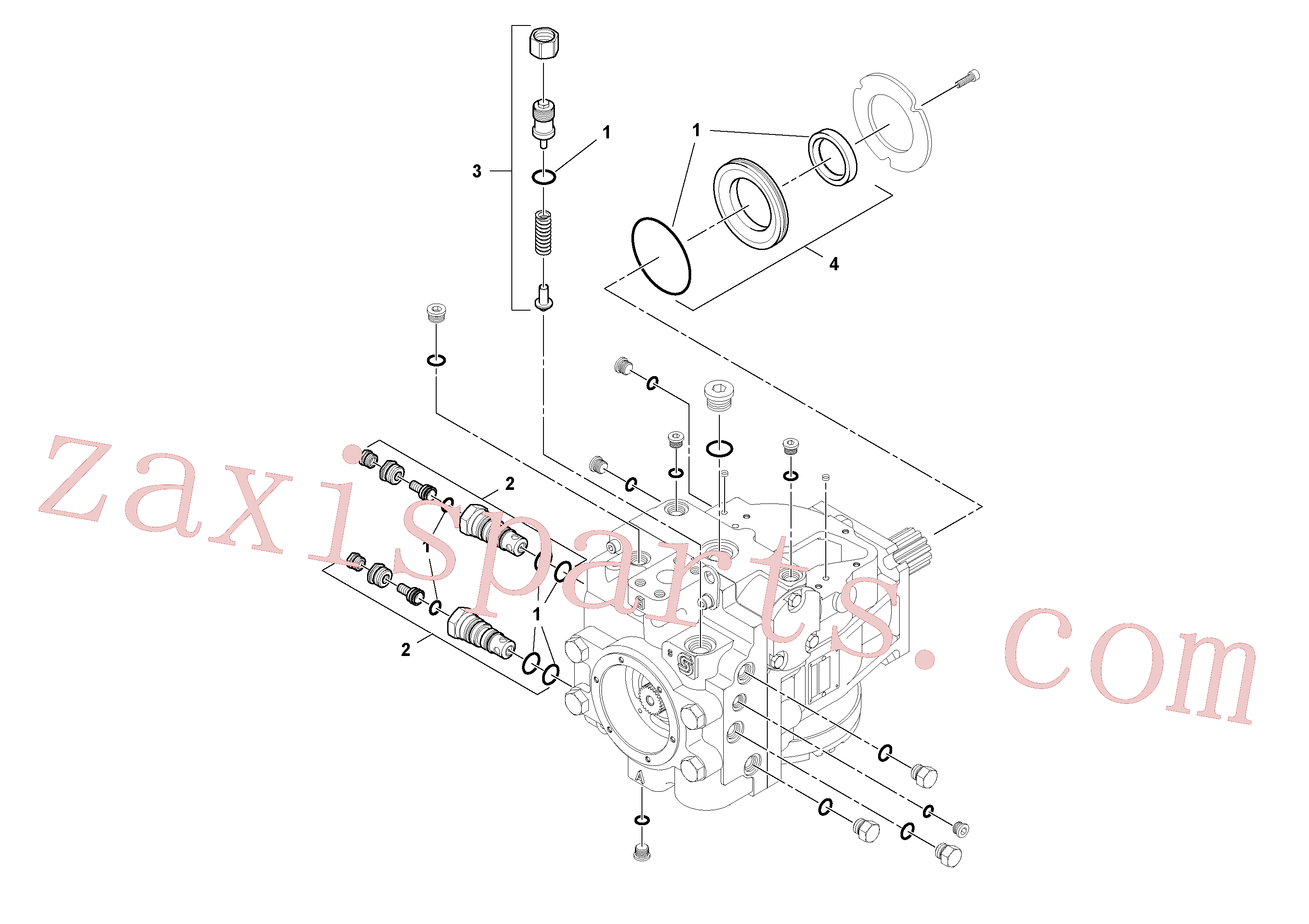RM95210258 for Volvo Propulsion Pump(1045417 assembly)