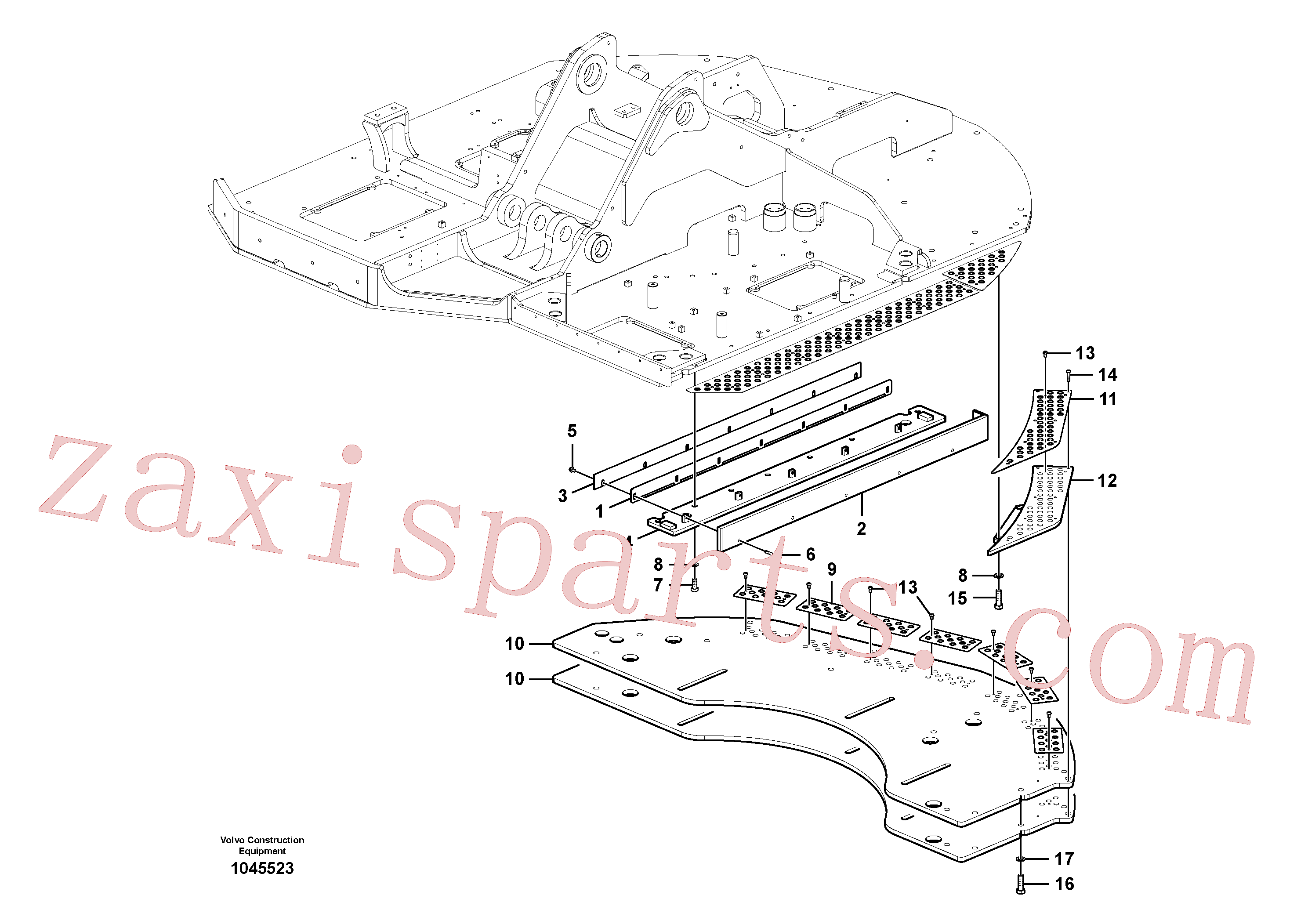 VOE991646 for Volvo Walk Way(1045523 assembly)