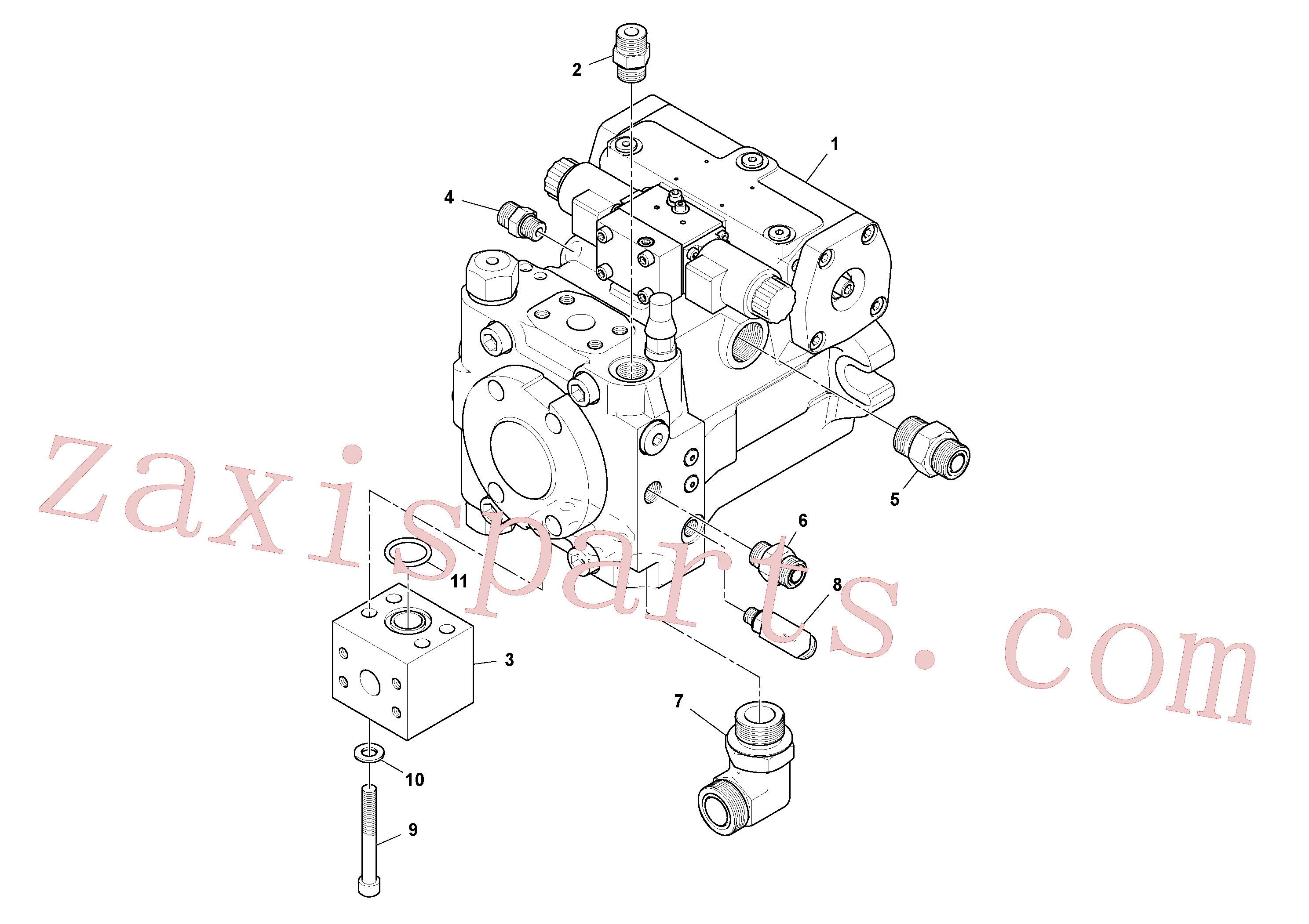 RM59922849 for Volvo Propulsion Pump Assembly(1048406 assembly)