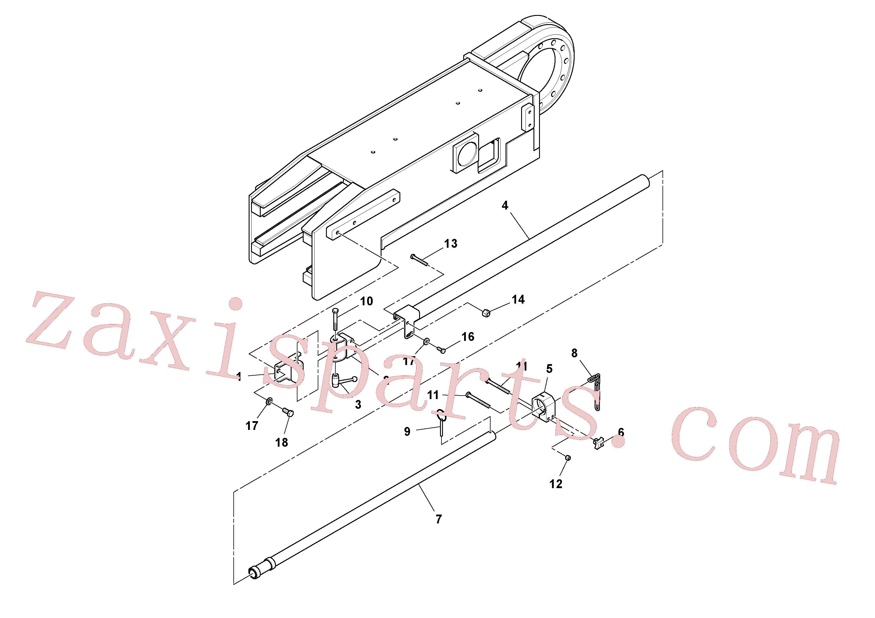 RM96713078 for Volvo Guidance Assembly, Lh(1048409 assembly)