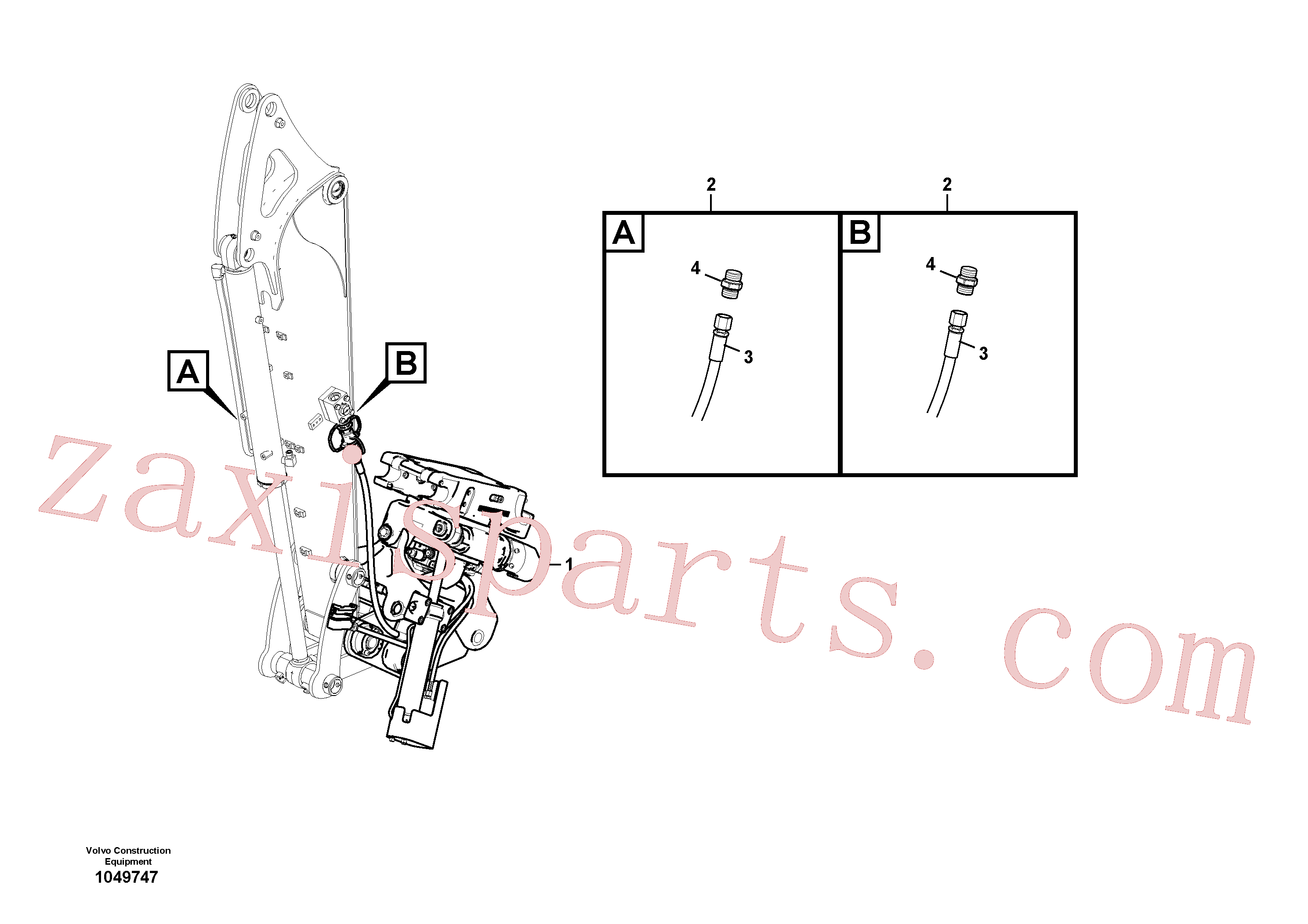 VOE14709033 for Volvo Rotator(1049747 assembly)