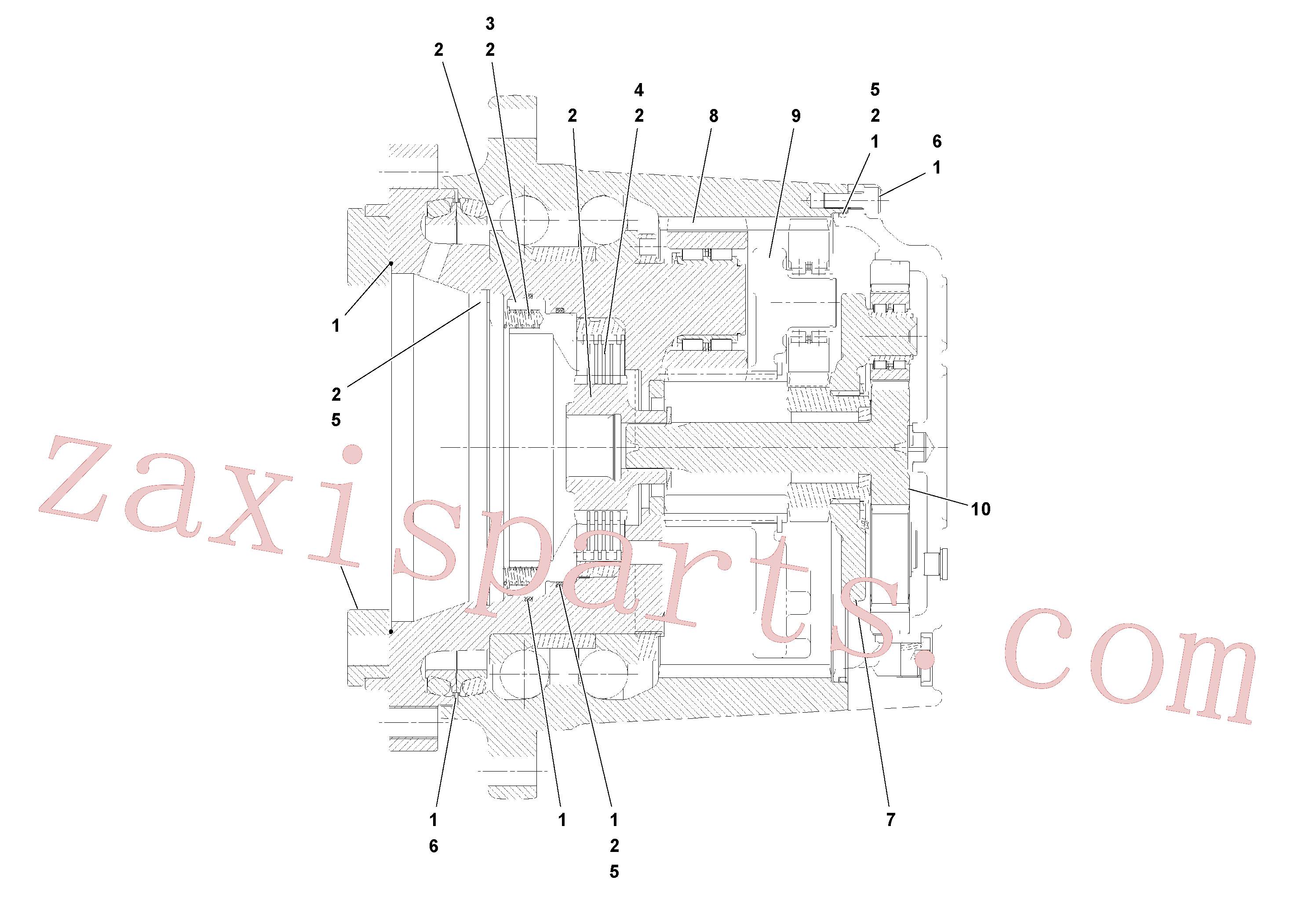RM20349643 for Volvo Planetary drive(1052017 assembly)