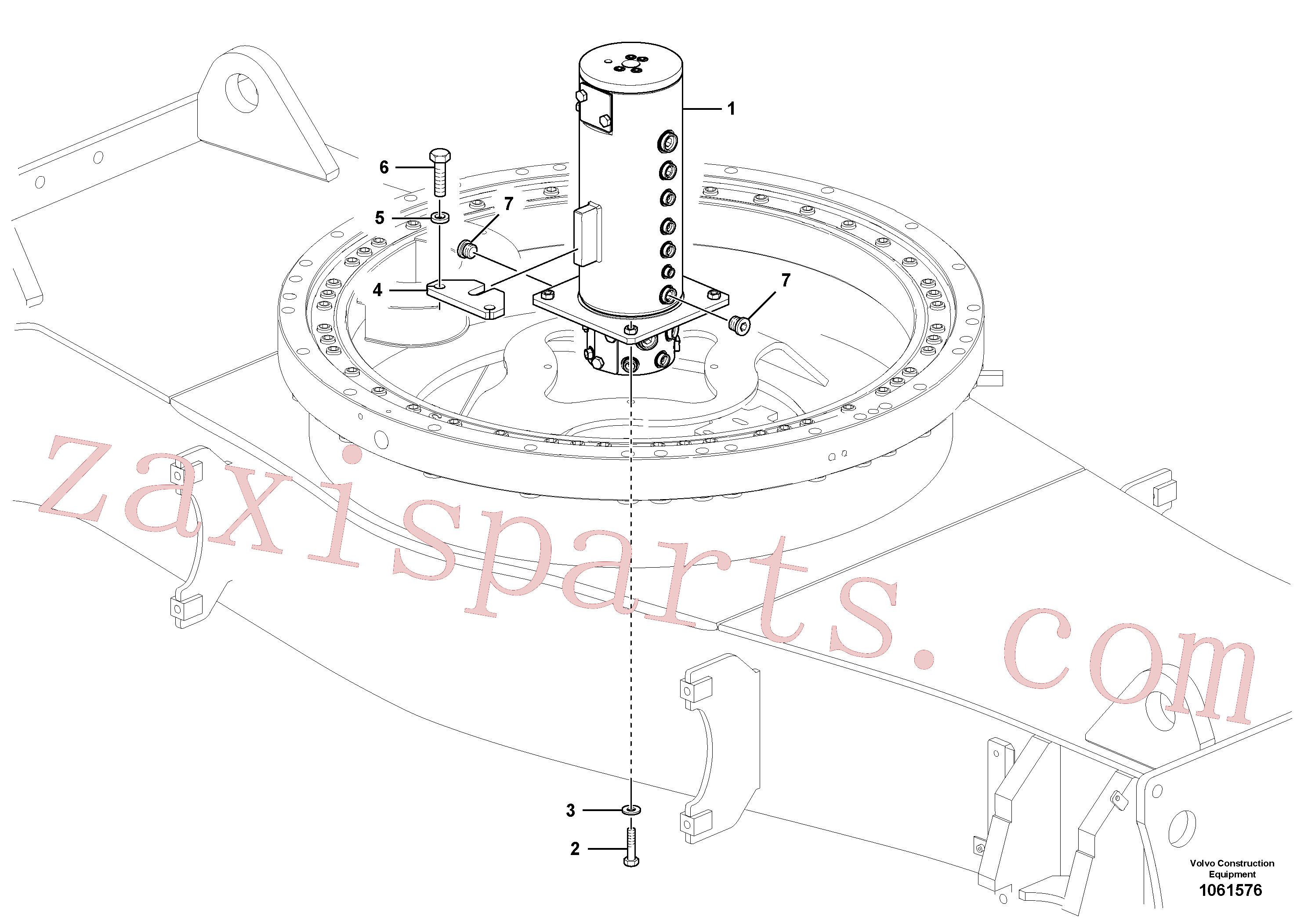 VOE60110032 for Volvo Turning joint(1061576 assembly)