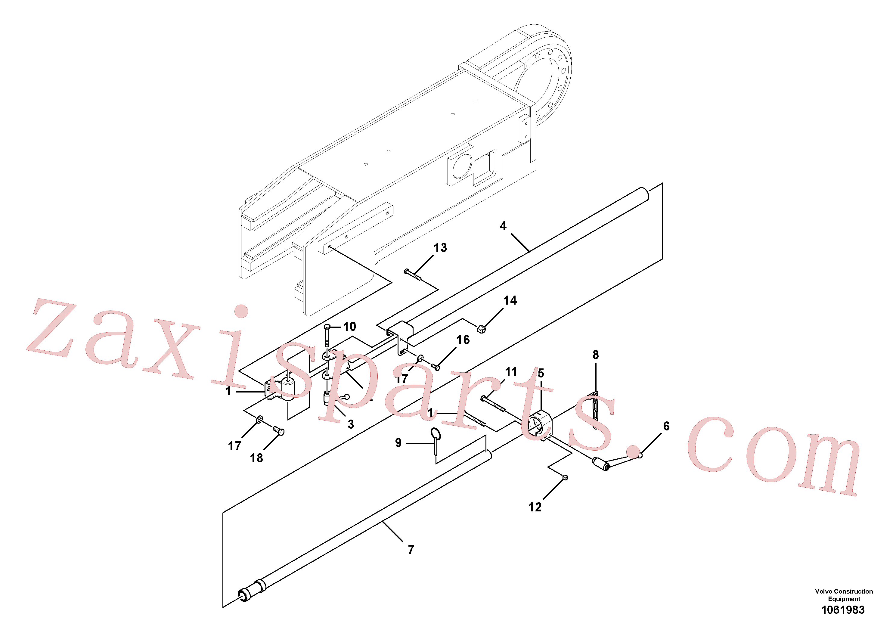 RM96713078 for Volvo Guidance Assembly, Lh(1061983 assembly)