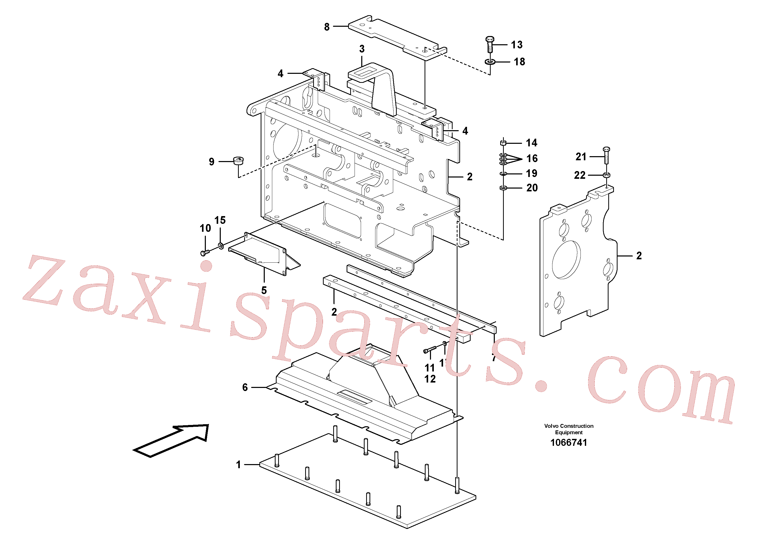 RM58838285 for Volvo Heating screed extension(1066741 assembly)