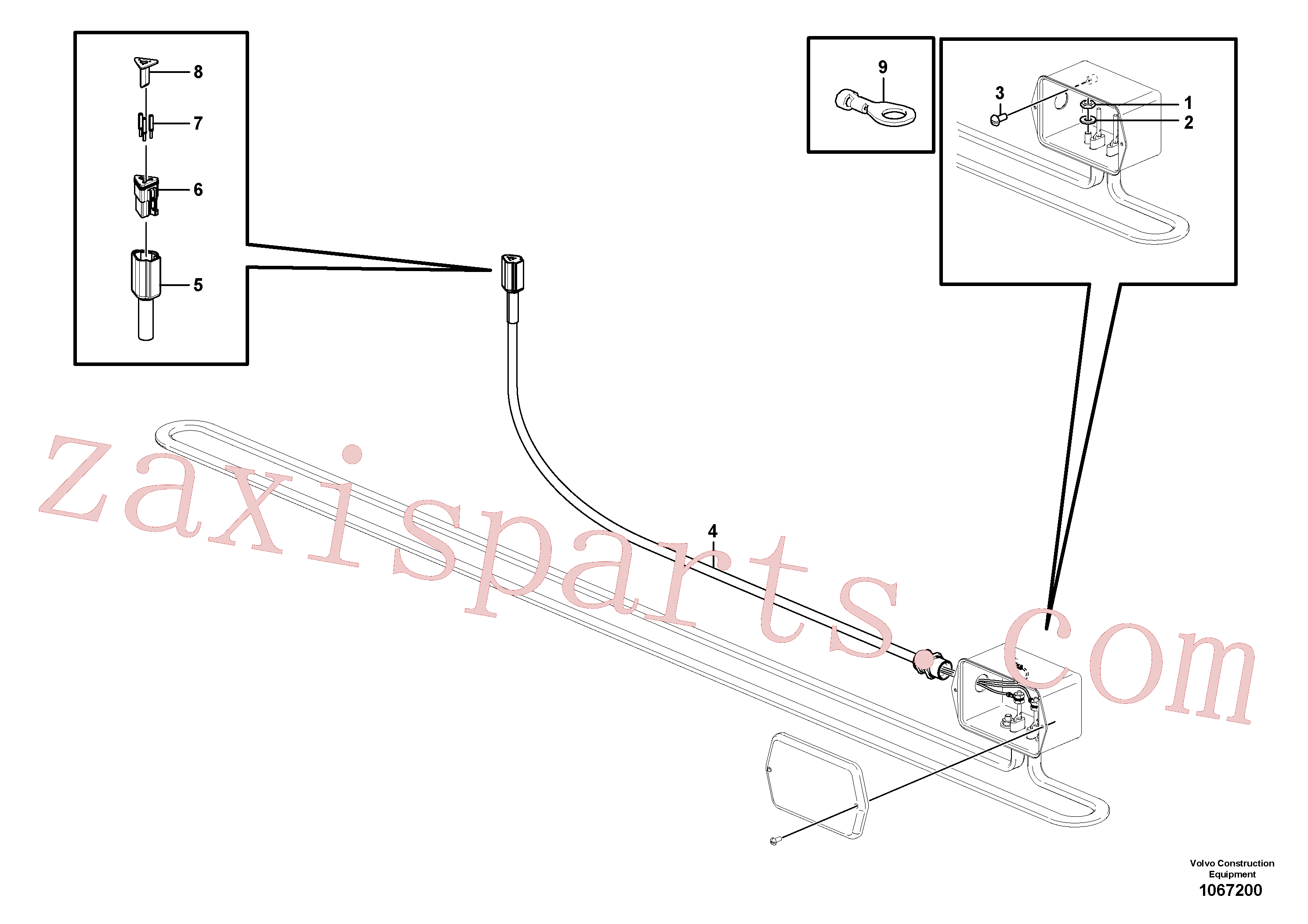 RM95996393 for Volvo Heater Bar(1067200 assembly)