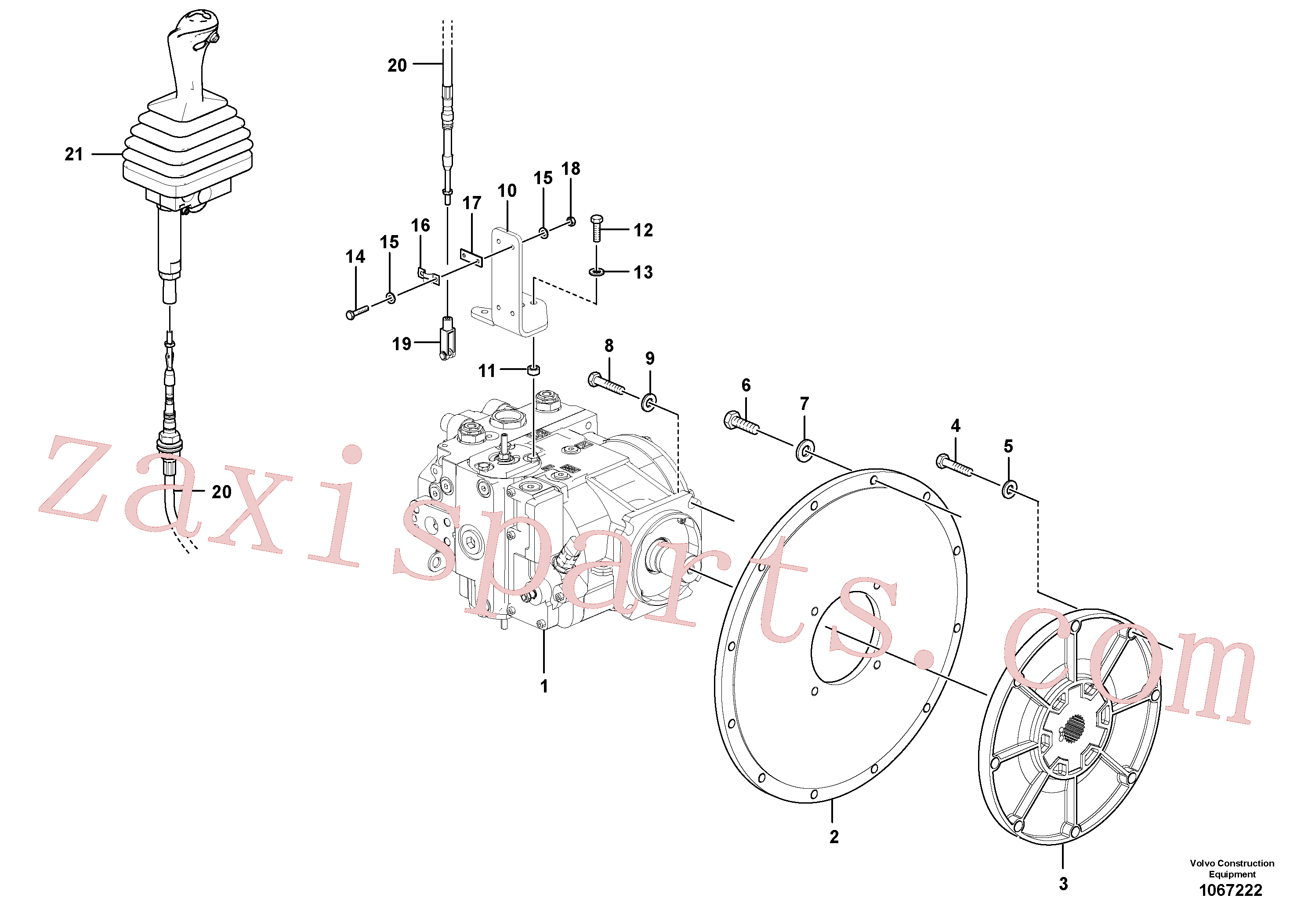 RM59580571 for Volvo Propulsion Pump Assembly(1067222 assembly)