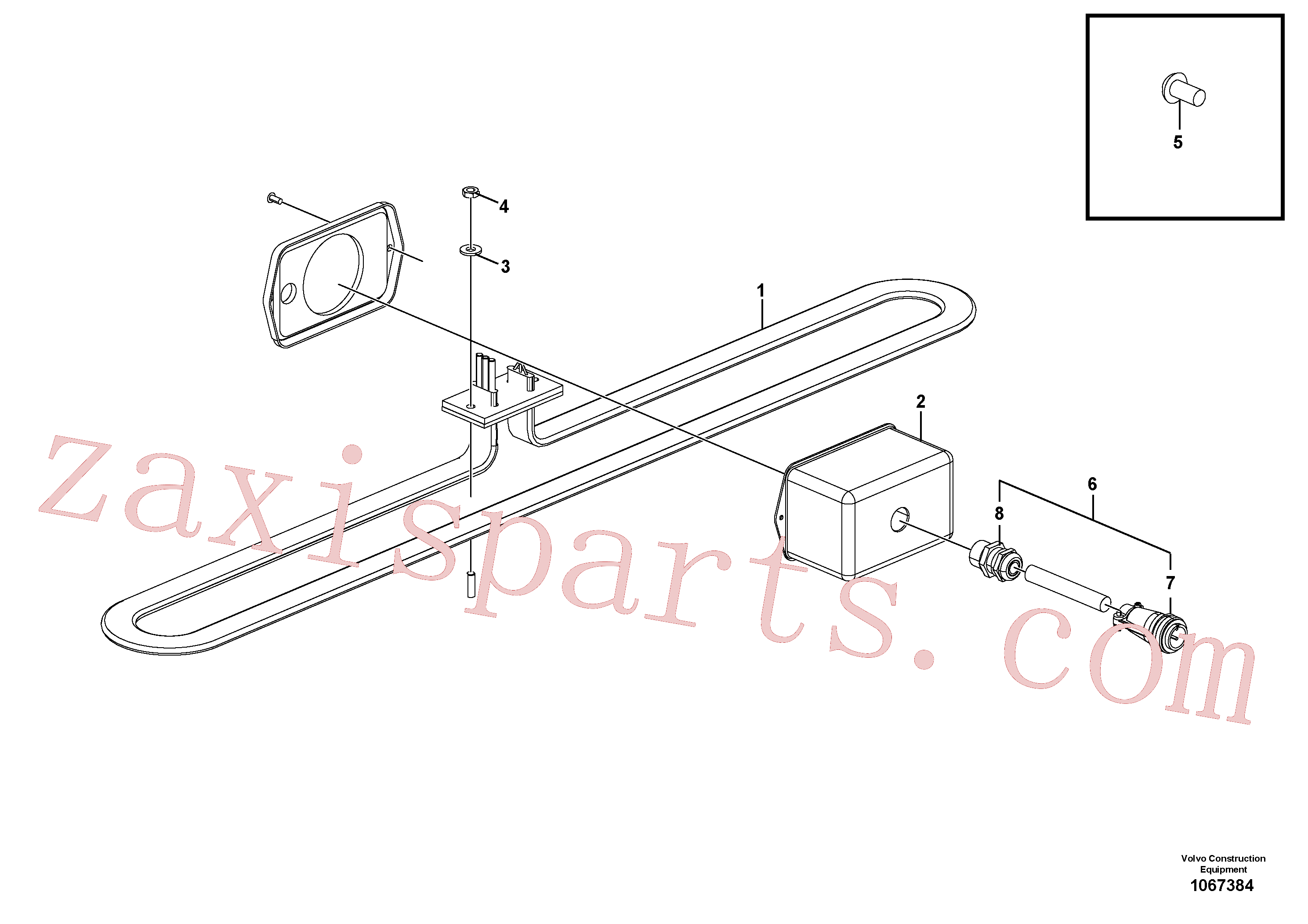 RM95996393 for Volvo Heater Bar(1067384 assembly)