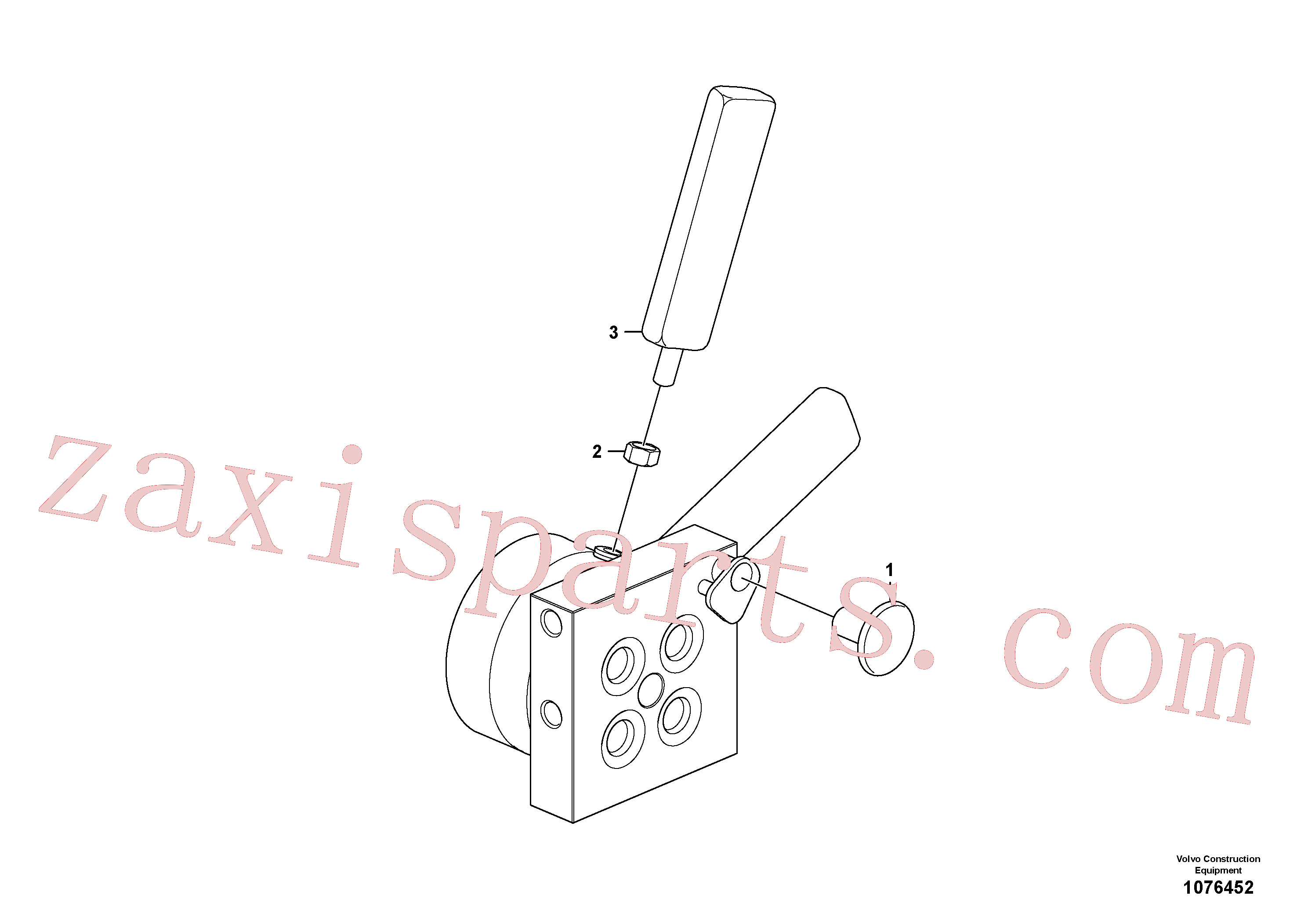 SA1010-11360 for Volvo Valve(1076452 assembly)