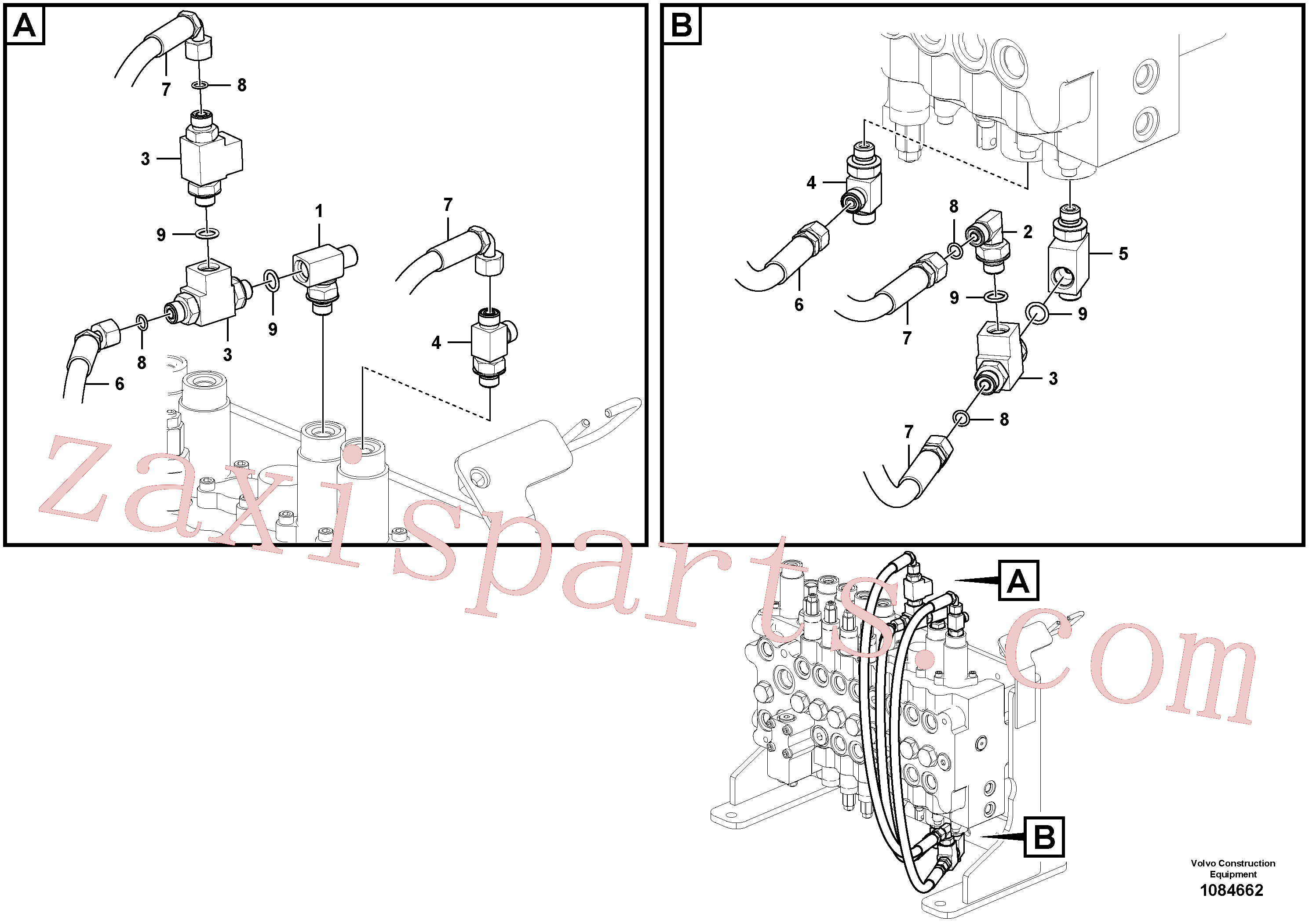 VOE14538879 for Volvo Servo system, travel alarm(1084662 assembly)