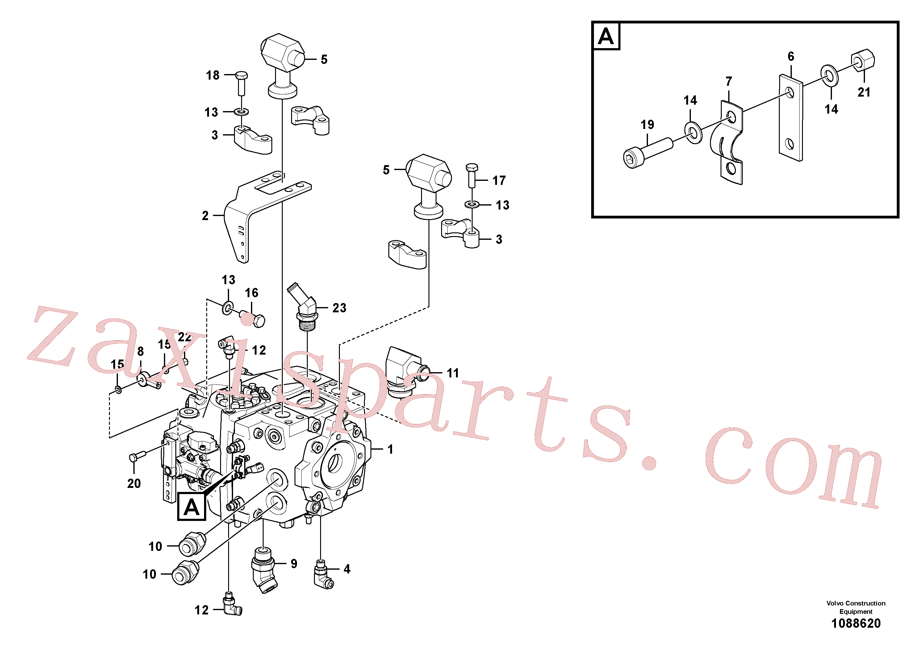 RM59580571 for Volvo Hydraulic pump assembly(1088620 assembly)