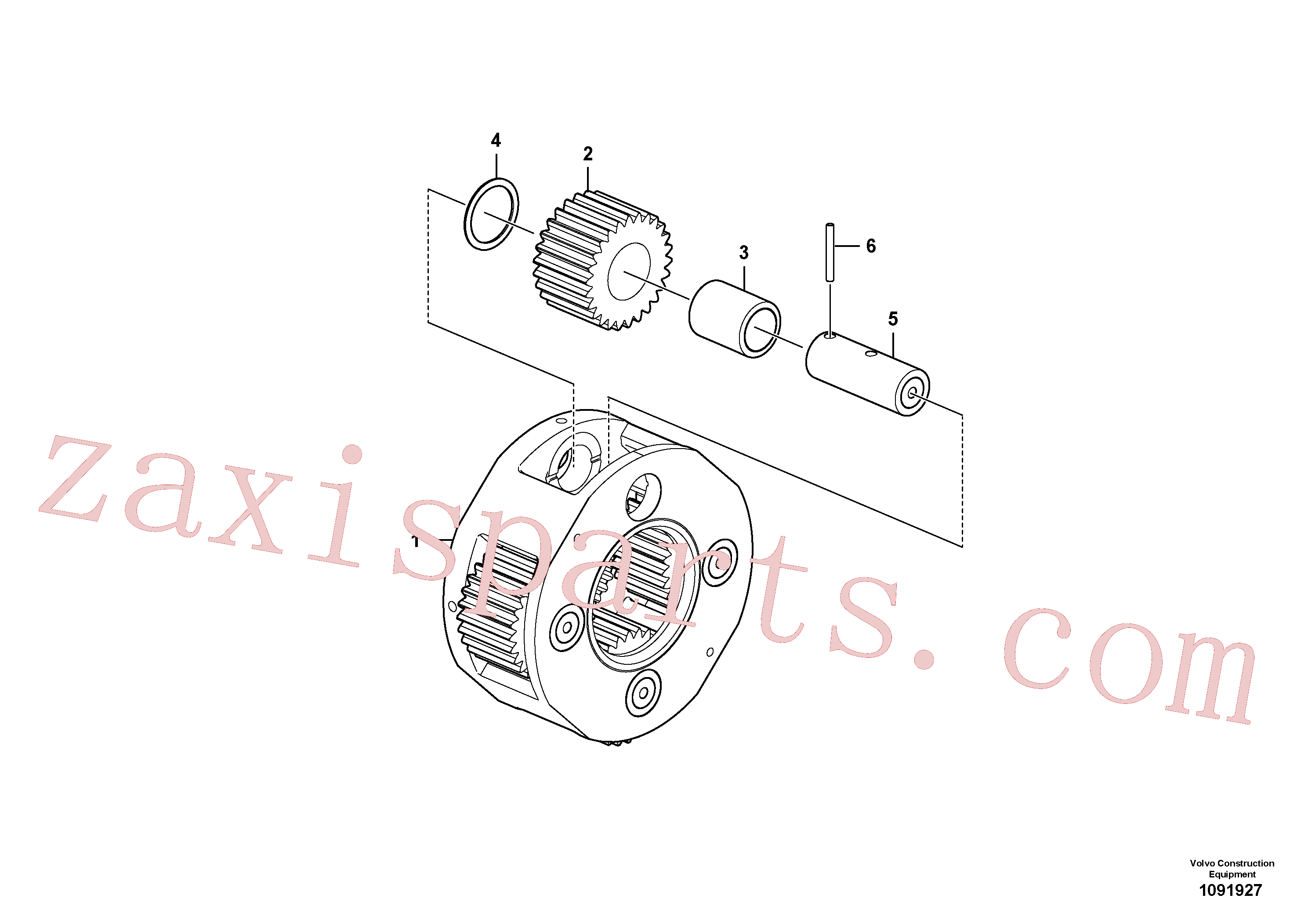 VOE14676744 for Volvo Planet Carrier(1091927 assembly)