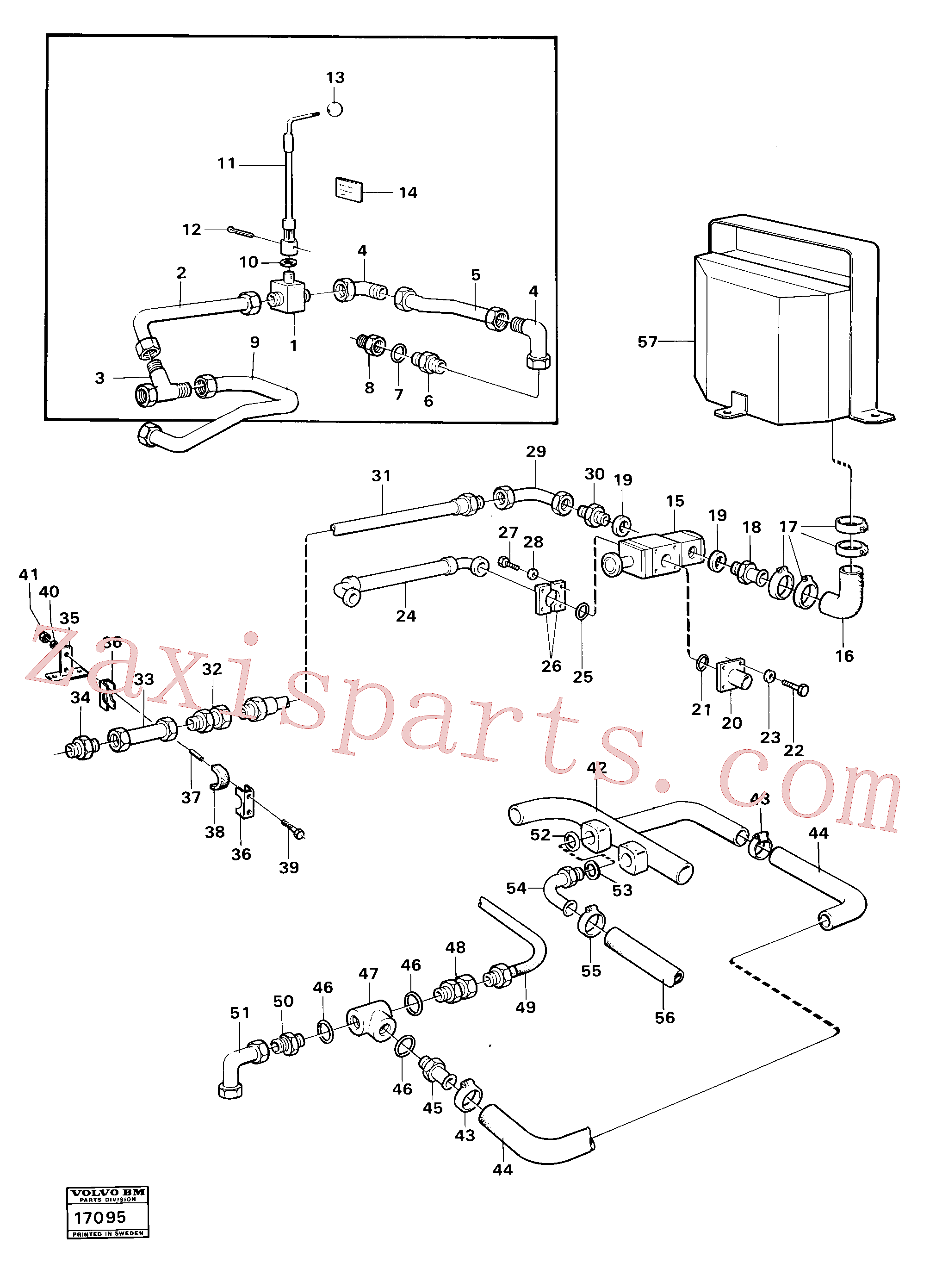 VOE4541052 for Volvo Hydraulic equipment 98925,99020(17095 assembly)