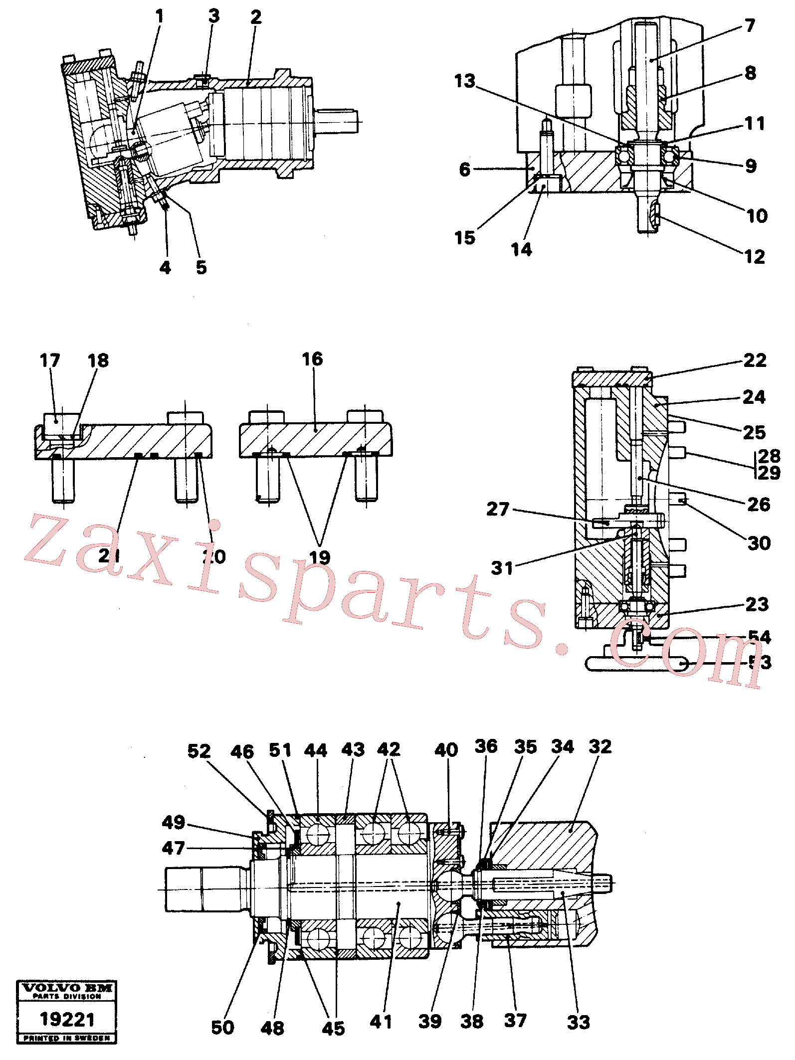 VOE11705205 for Volvo Hydraulic pump(19221 assembly)