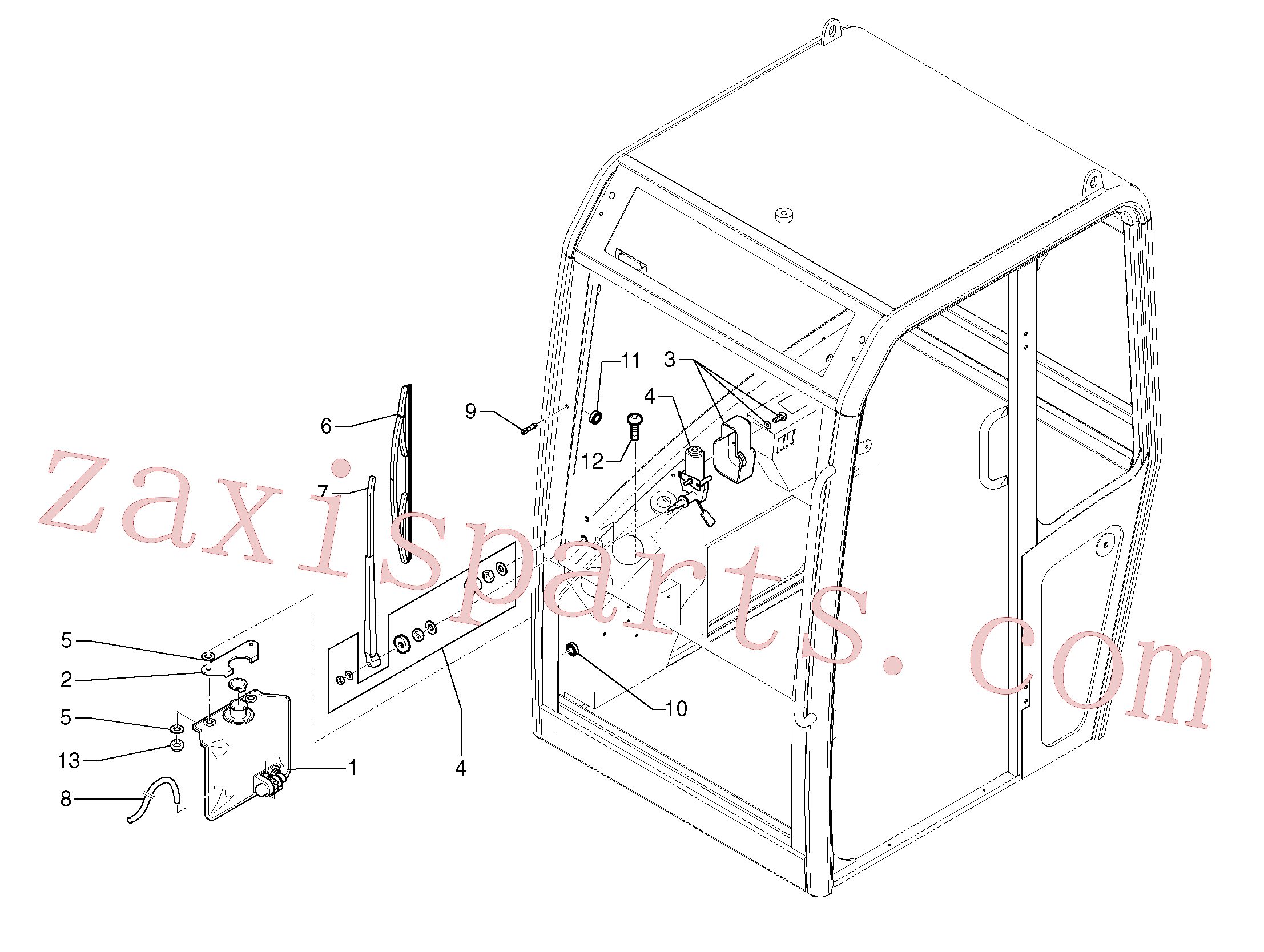 PJ4450026 for Volvo Cleaning system(363AY1 assembly)