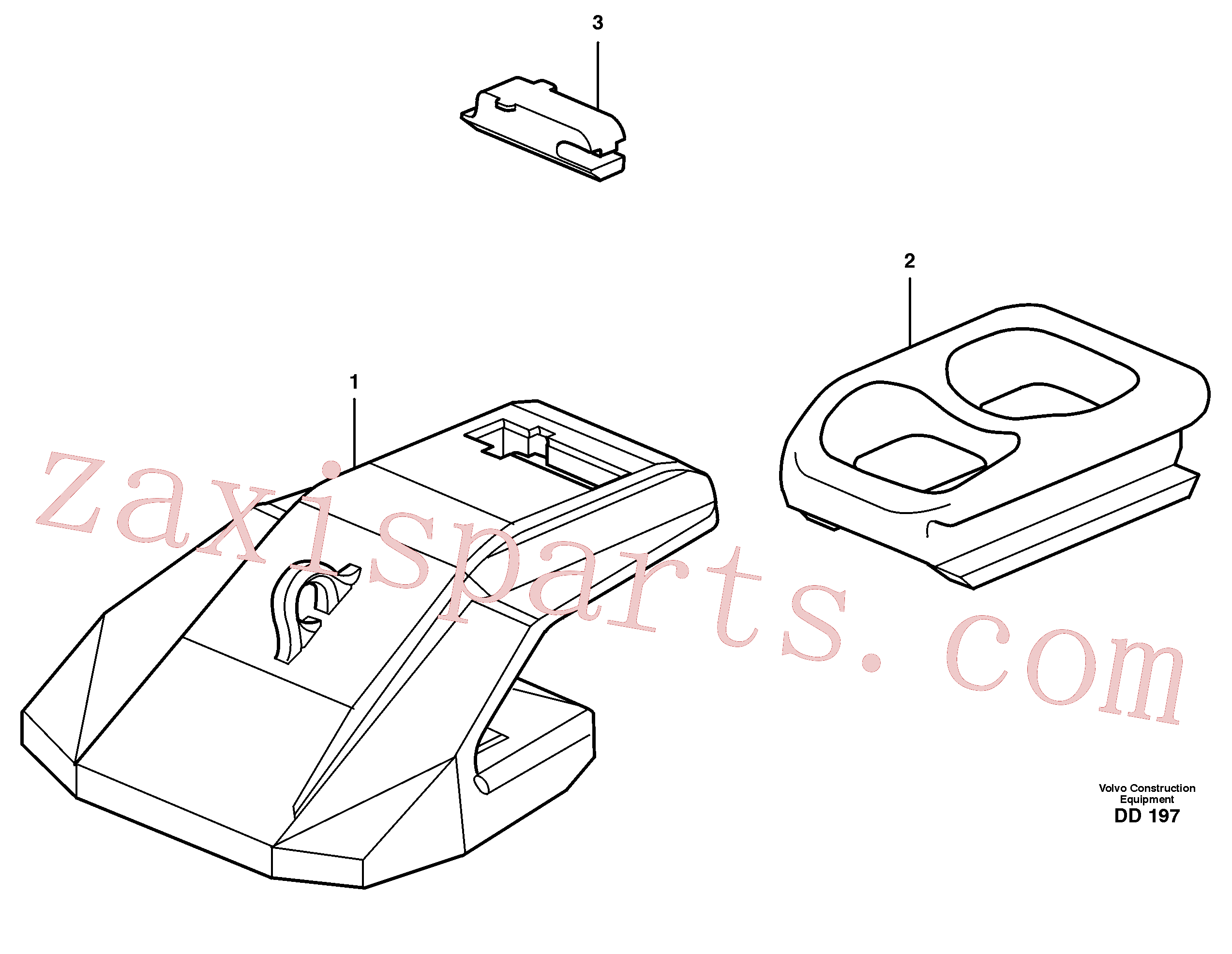 VOE11156082 for Volvo Segment(DD197 assembly)