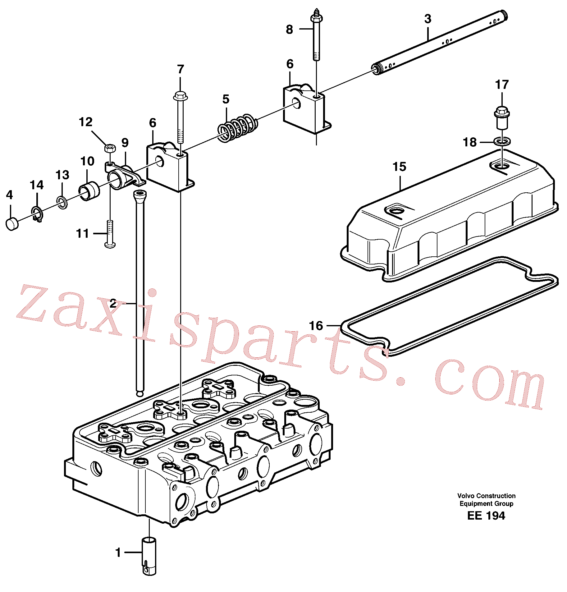 SA9541-01025 for Volvo Valve mechanism(EE194 assembly)