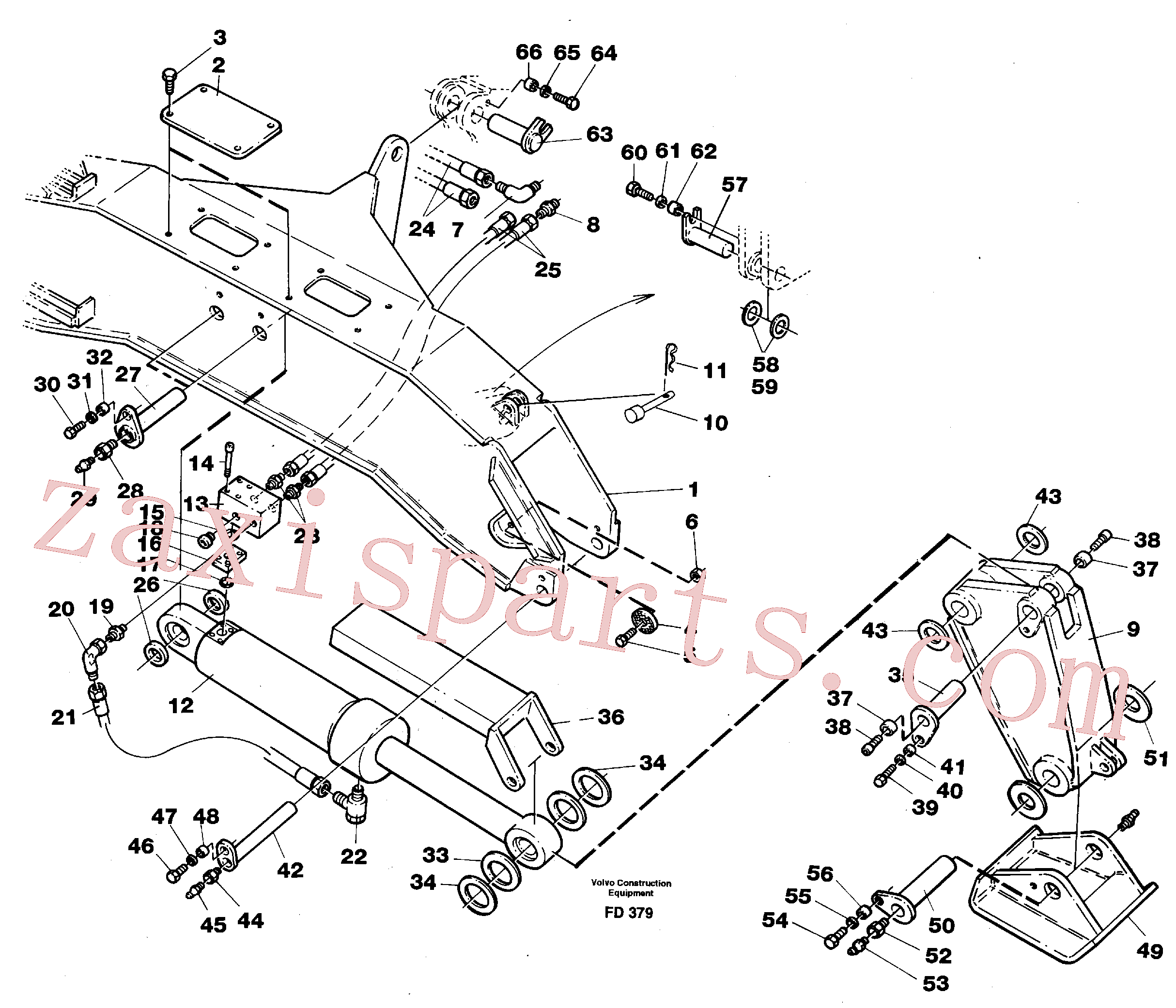 VOE14235651 for Volvo Stabilisors flexible plates(FD379 assembly)
