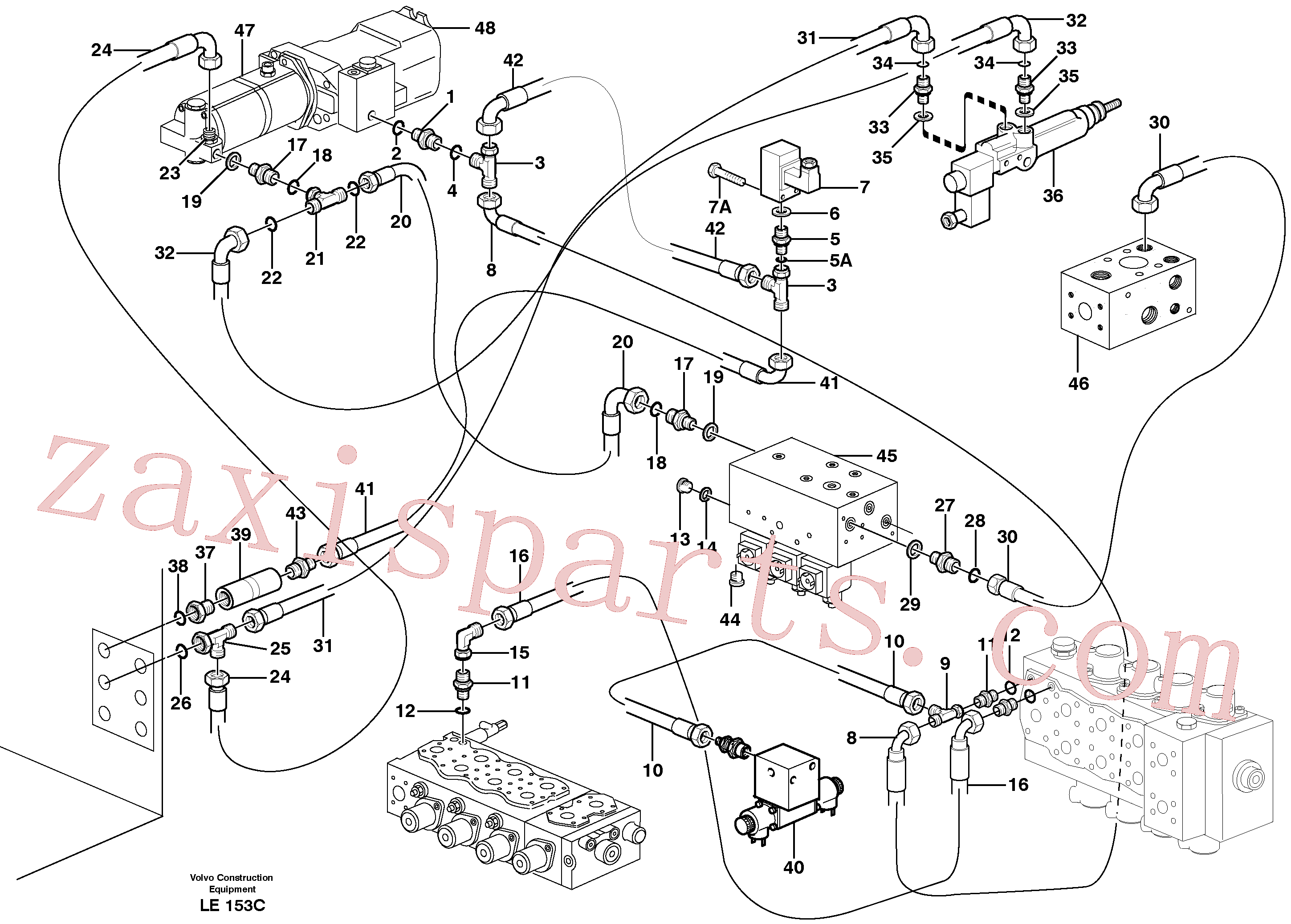 VOE14378768 for Volvo Servo hydraulics, speed regulation(LE153C assembly)