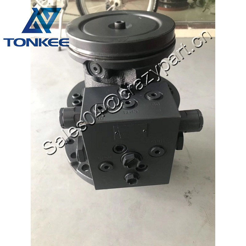 hydraulic swing device 14636561 VOE14636561 swing motor assy EC80D slewing motor with reducer